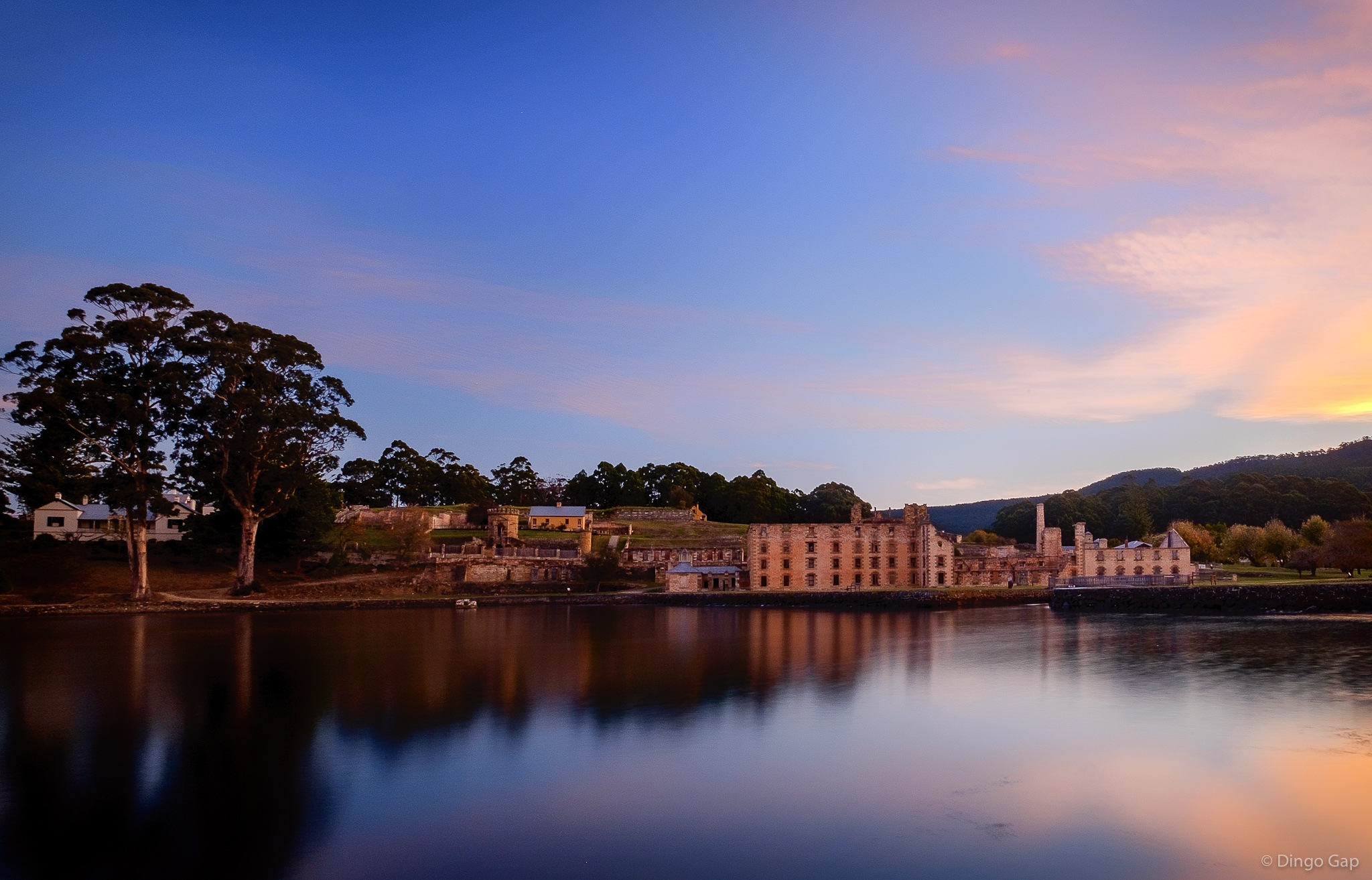 Port Arthur at Dusk by Peter Medbury