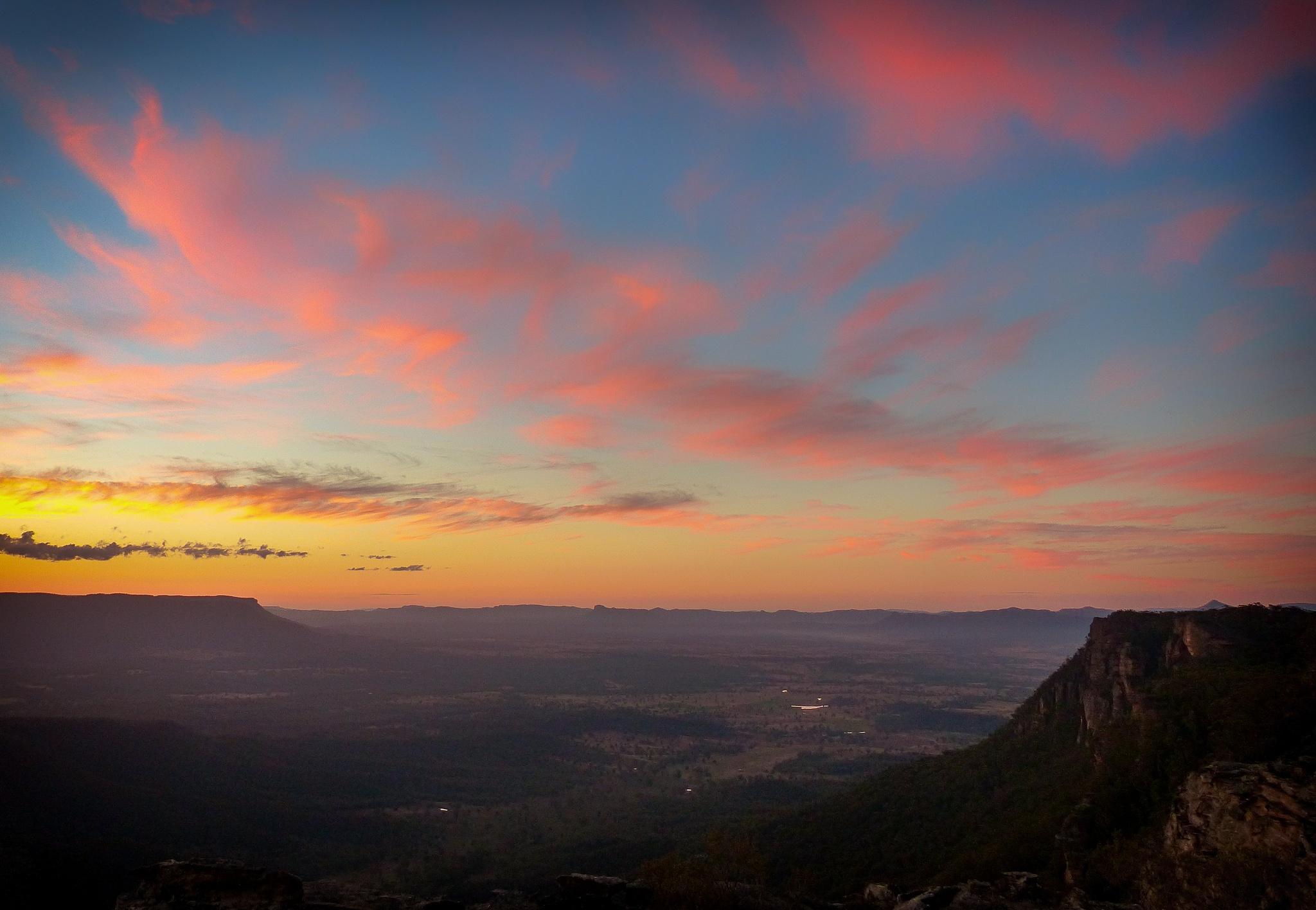 Capertee Sunset by Peter Medbury