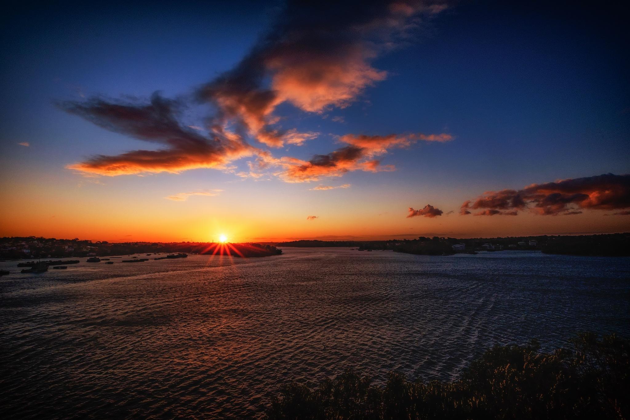 Wispy Clouds by Peter Medbury