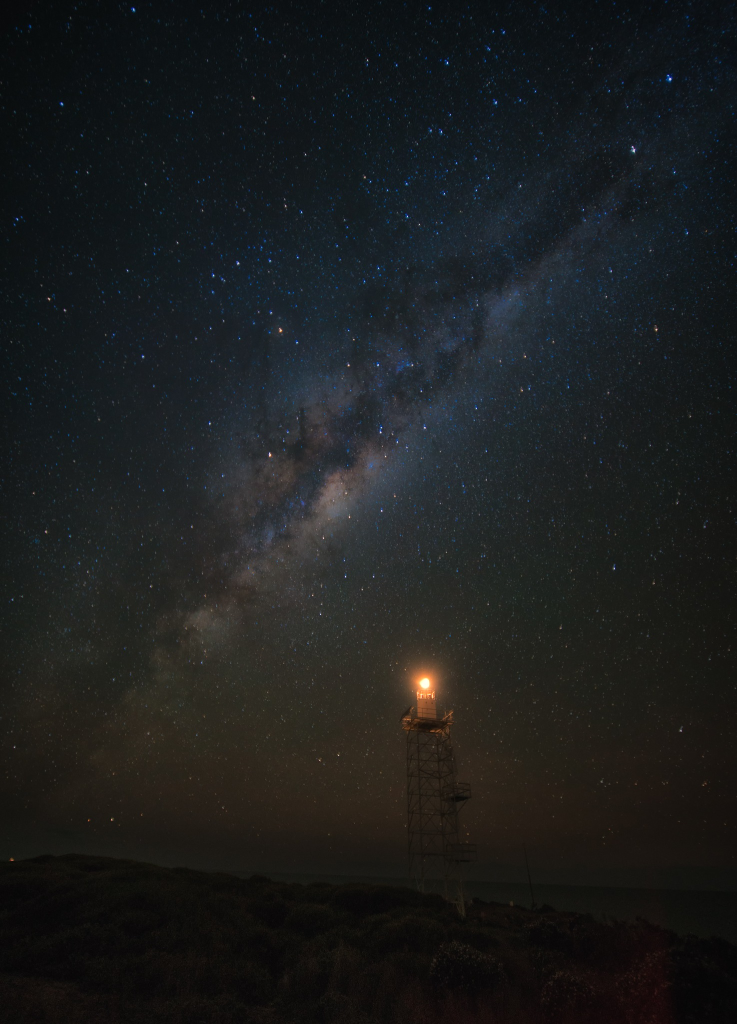 Light Station by Peter Medbury