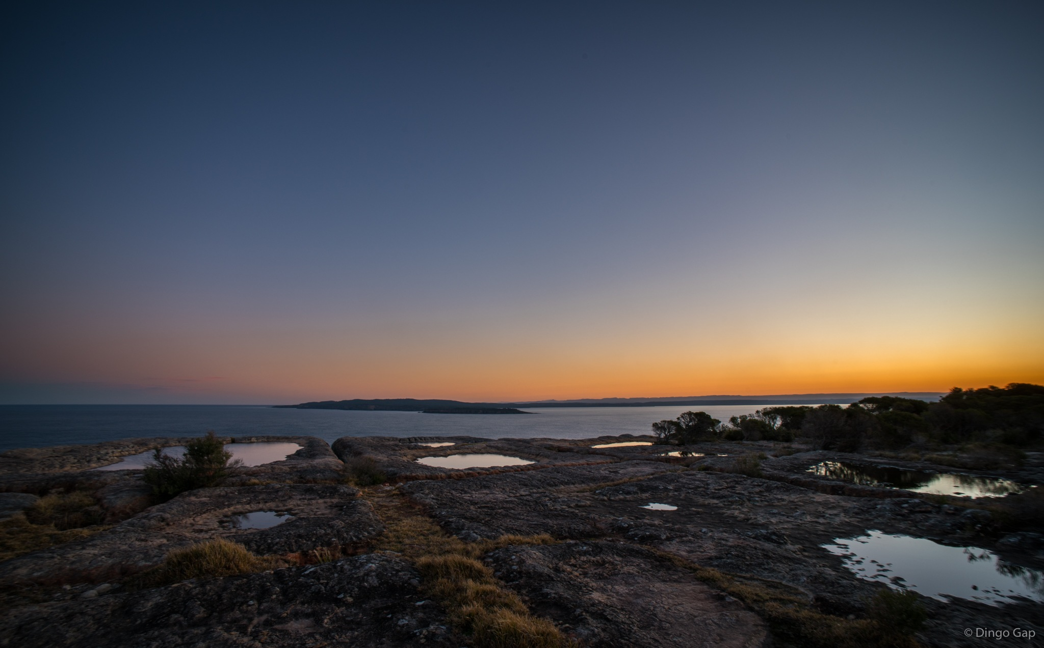 Jervis Bay Sunset by Peter Medbury
