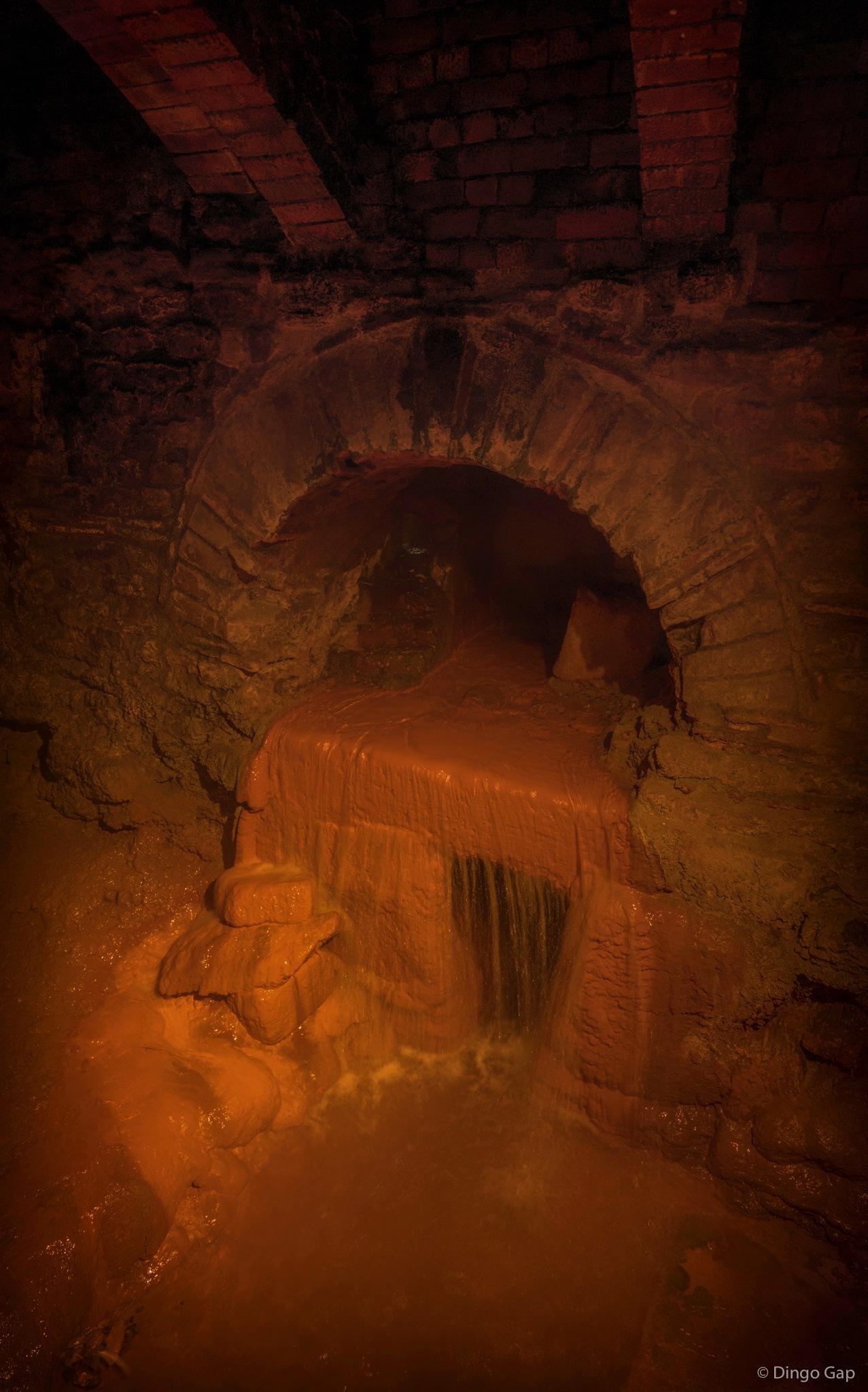 Spring Overflow - Roman Baths in Bath by Peter Medbury