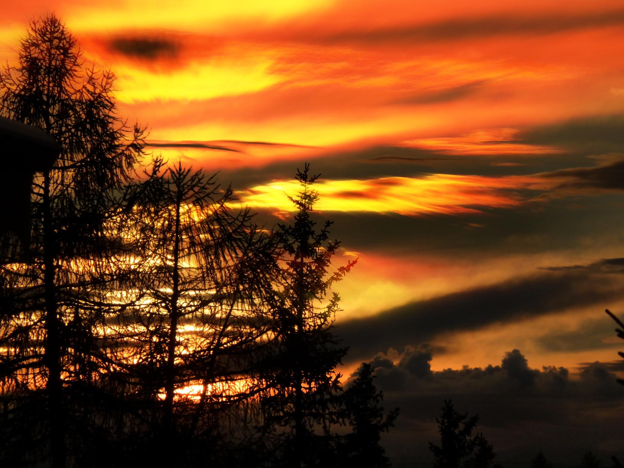 Abendhimmel by Bernd Titelius