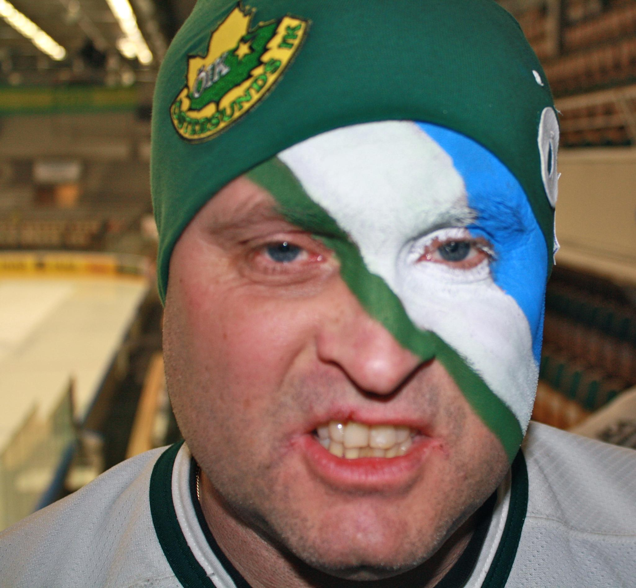 Ishockey supporter by Birgith Haraldsson