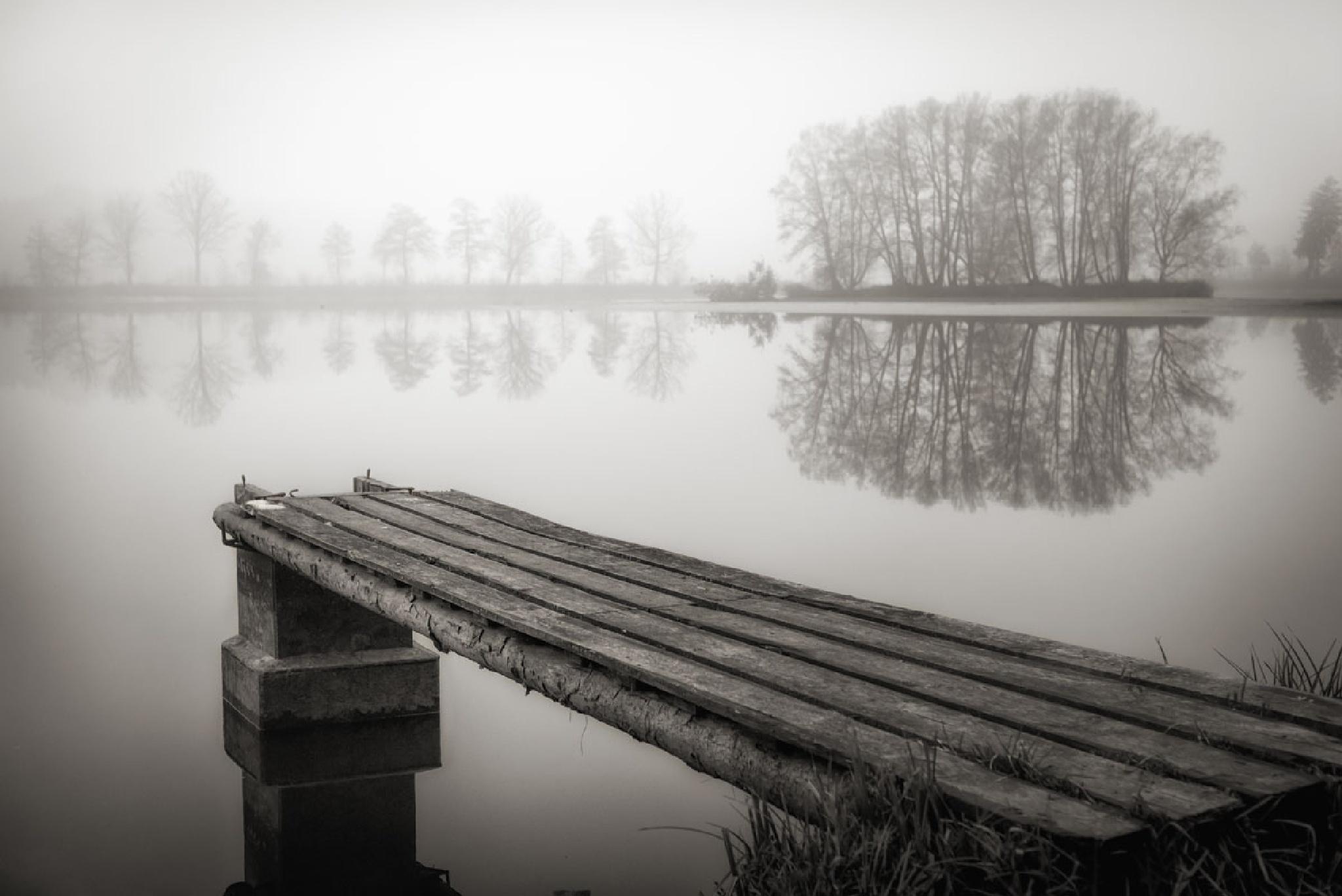 grey island by Hans Zitzler