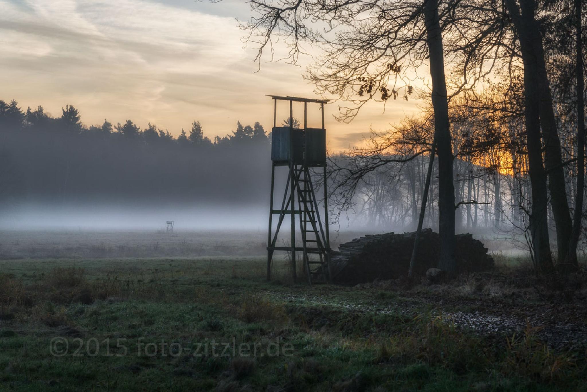 hunters land by Hans Zitzler