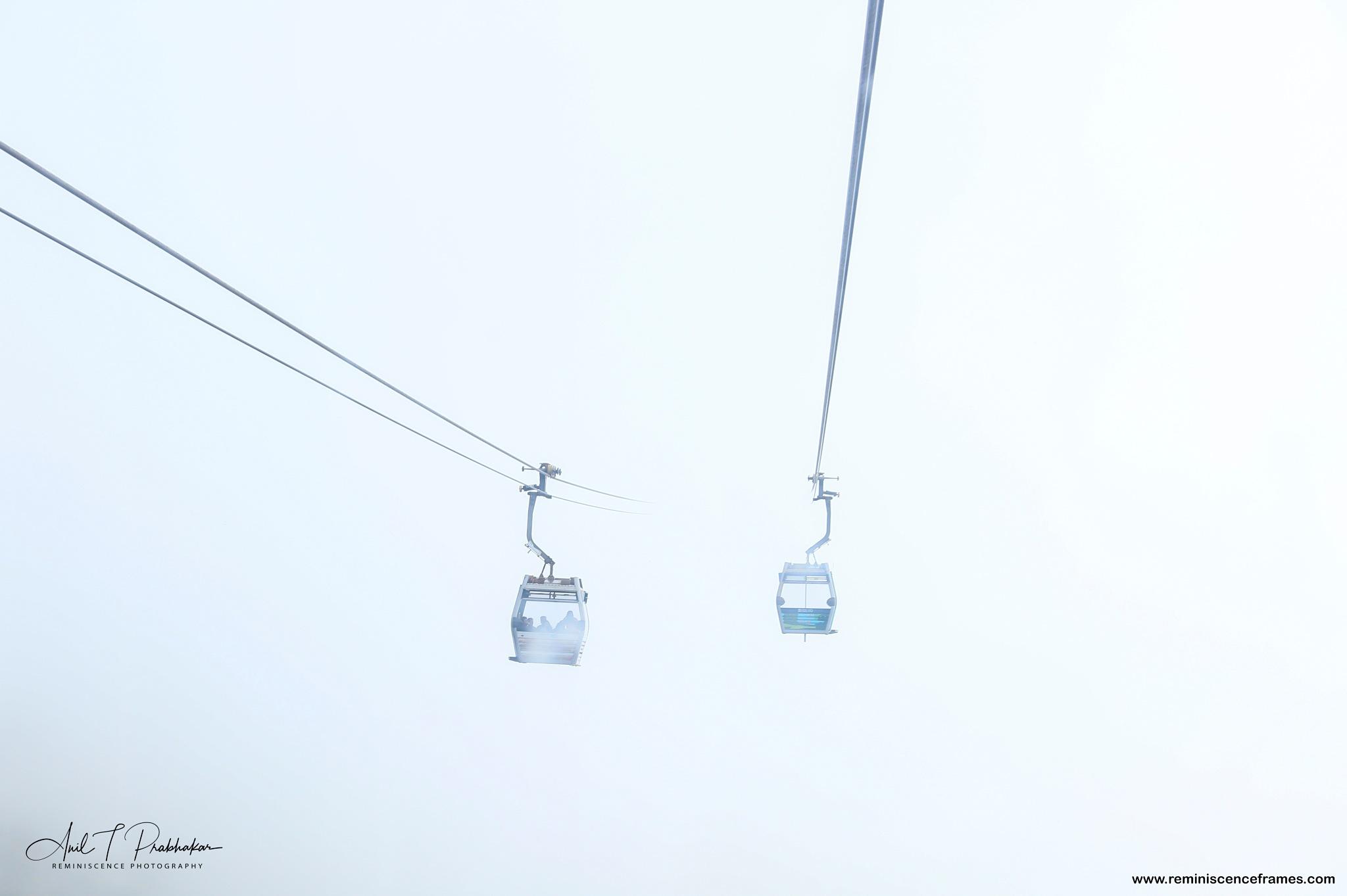 The Cable Car by Anil T Prabhakar