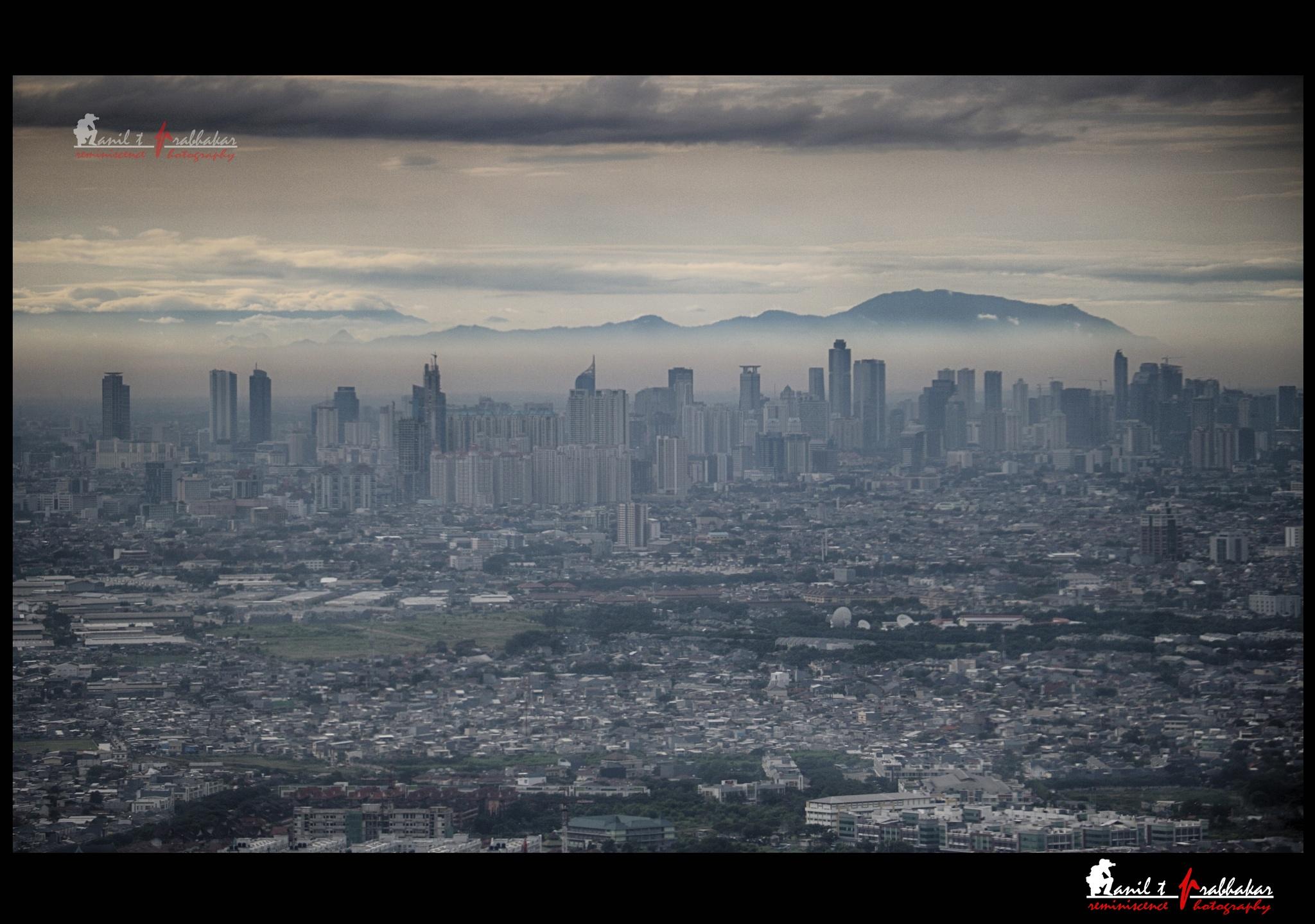 Outlook of Jakarta by Anil T Prabhakar