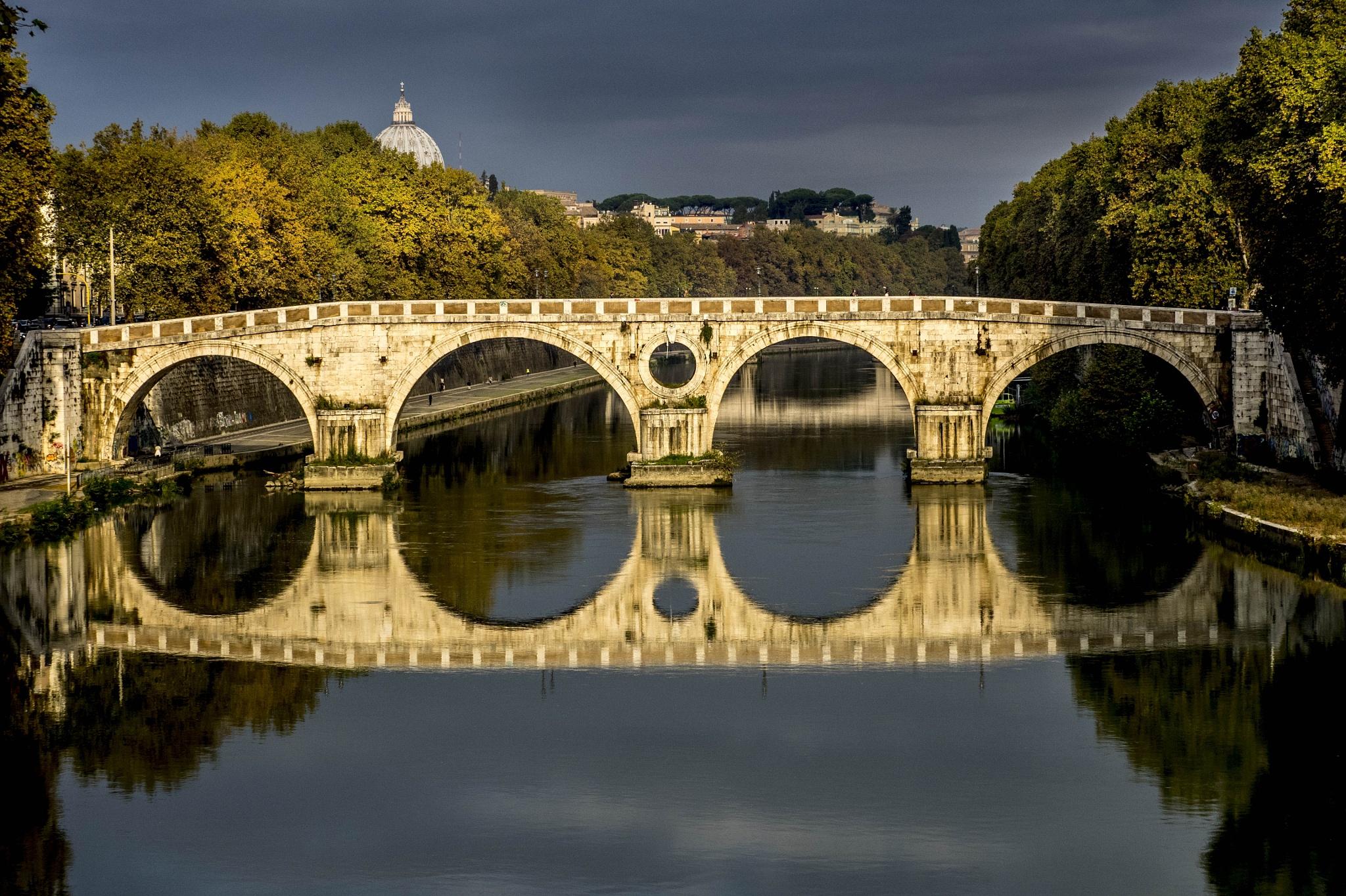 Ponte Sisto by Erik Jaud