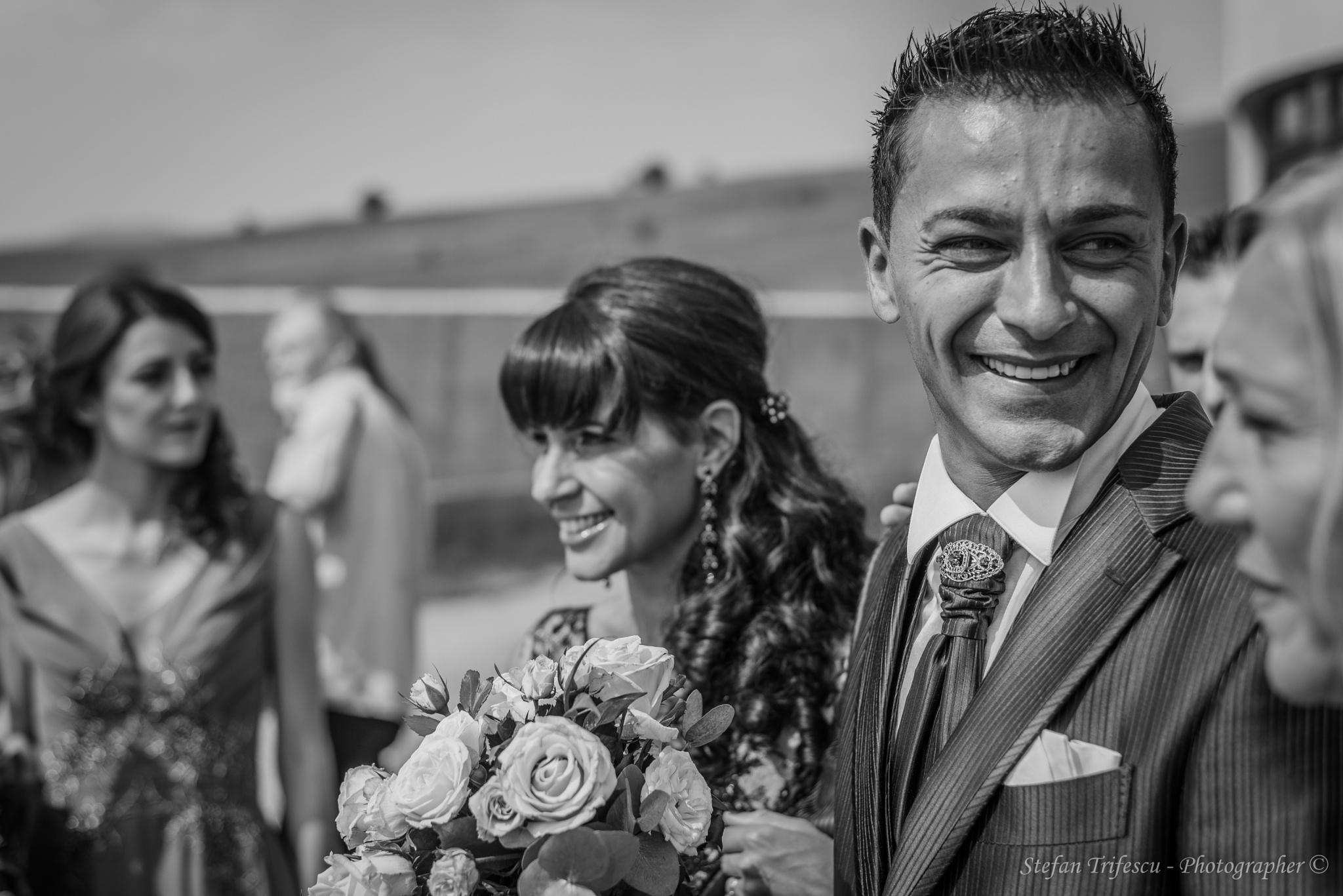 Wedding day by Stefan Trifescu