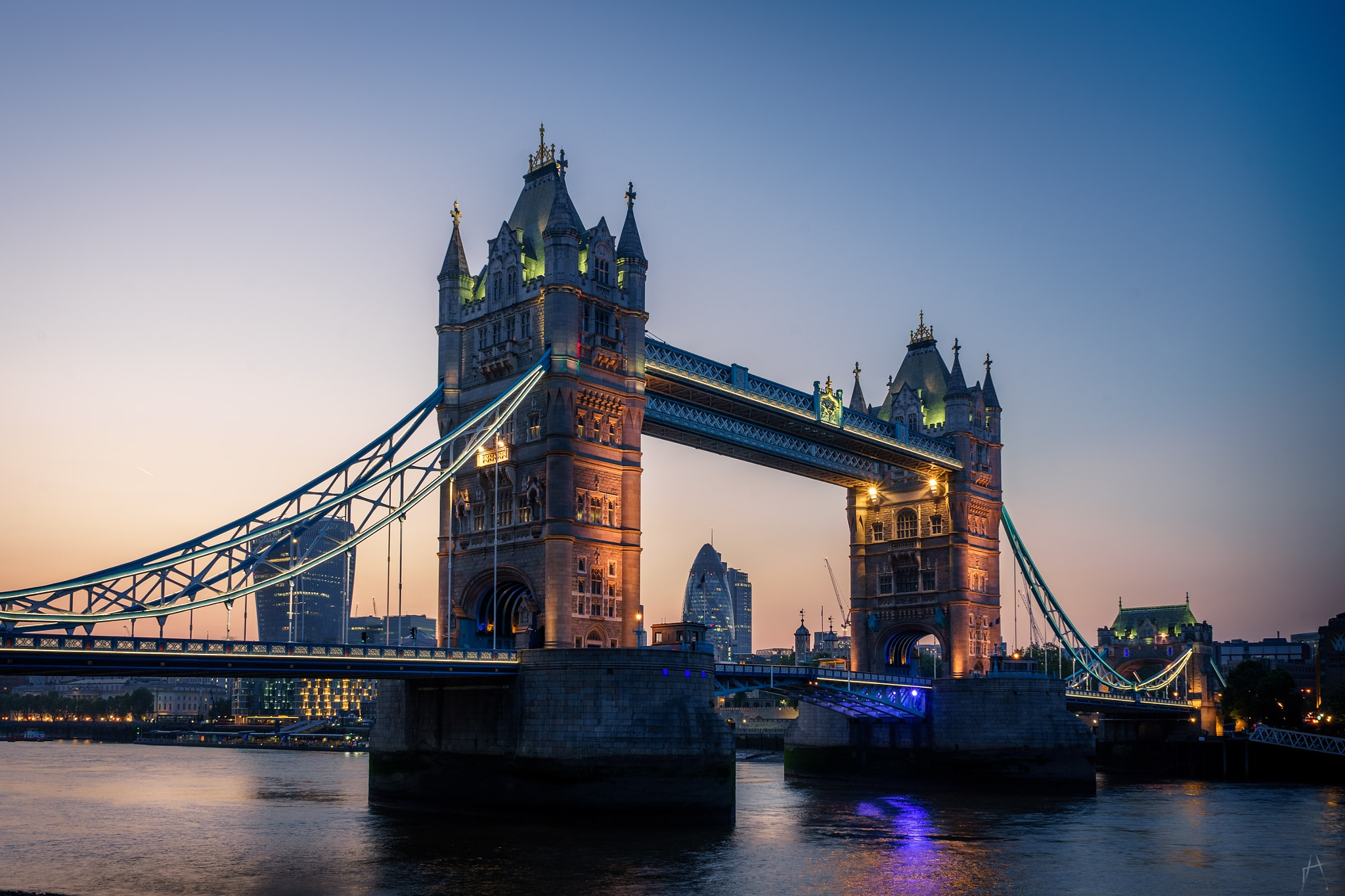 Photo in Architecture #sunset #tower bridge #london #bridge #architecture #city #england #uk #landmark #famous #evening