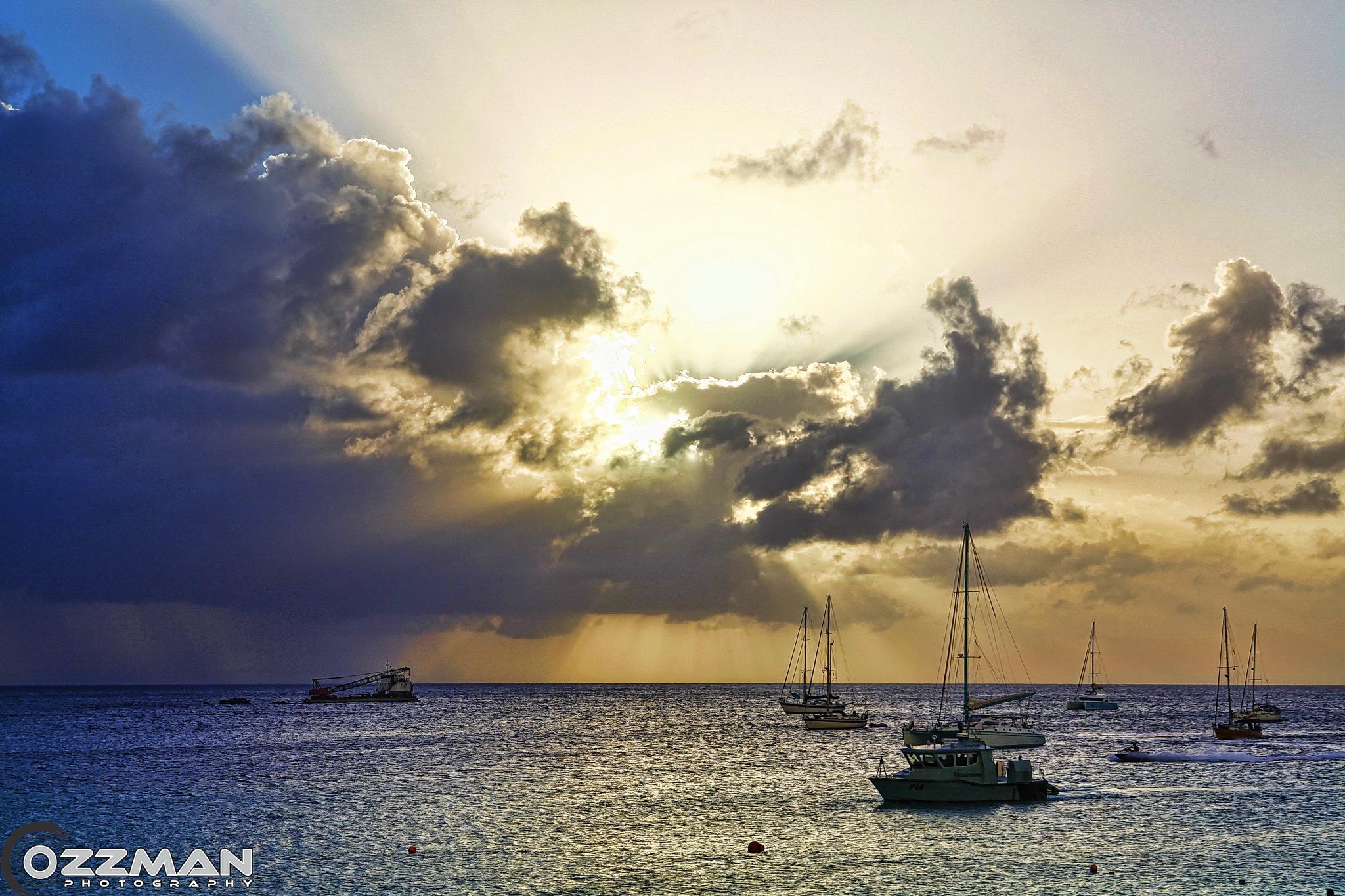 Boat Yard Sunset by Ozzy Osborne