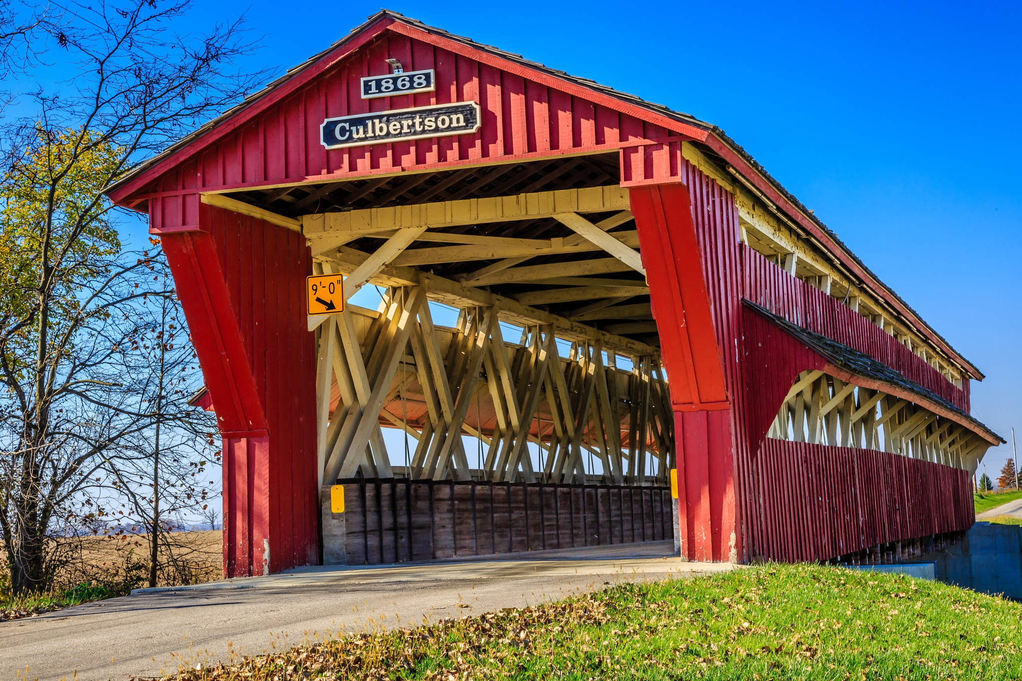 Covered bridge in Union county by DennisKreais