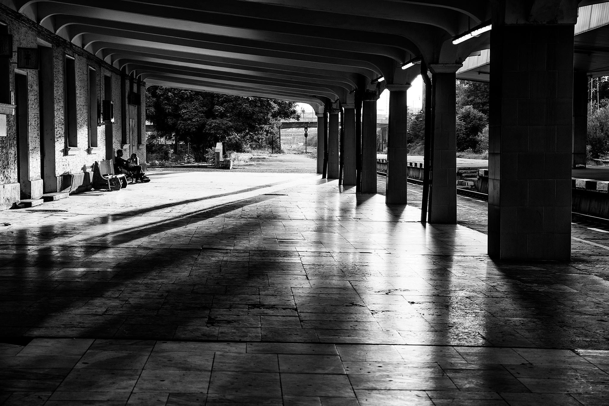Podouyane Station by White Raven