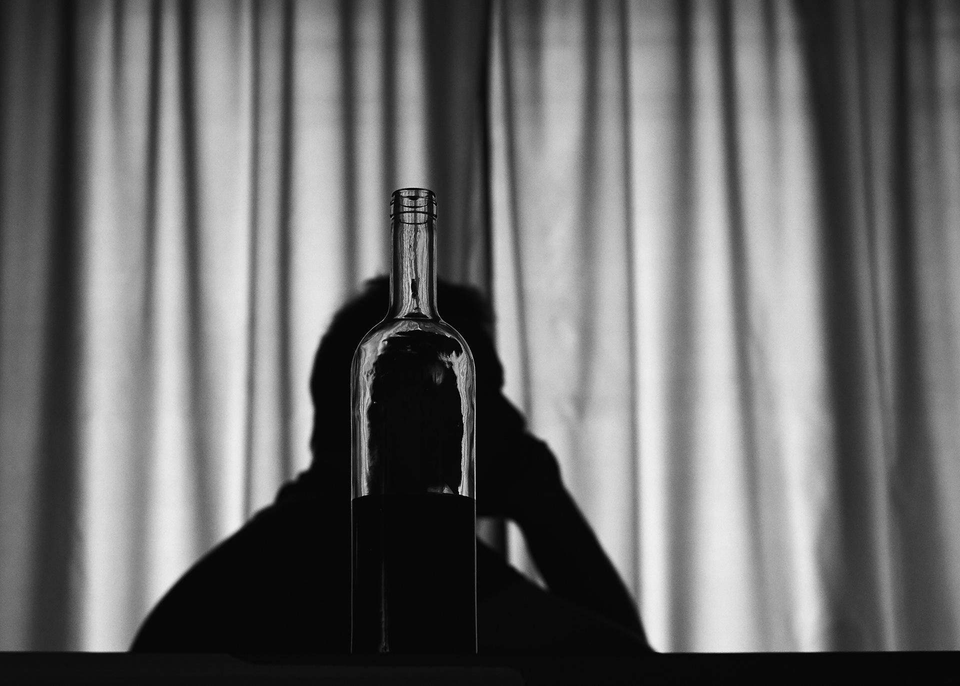 Man in a bottle by White Raven