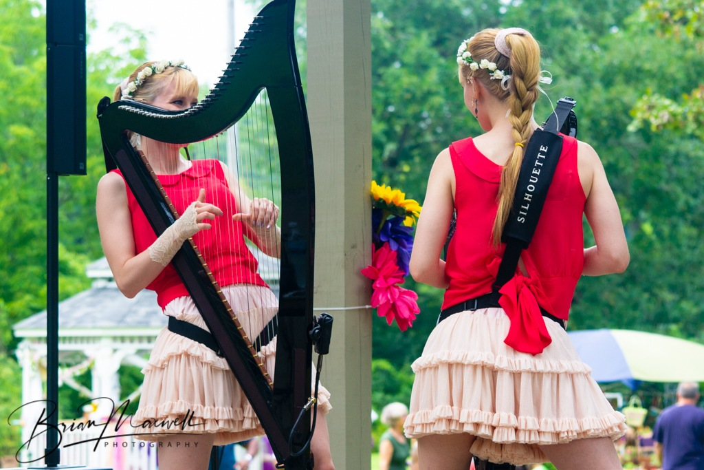 Harp Twins at World of Faeries by Brian Maxwell Photography