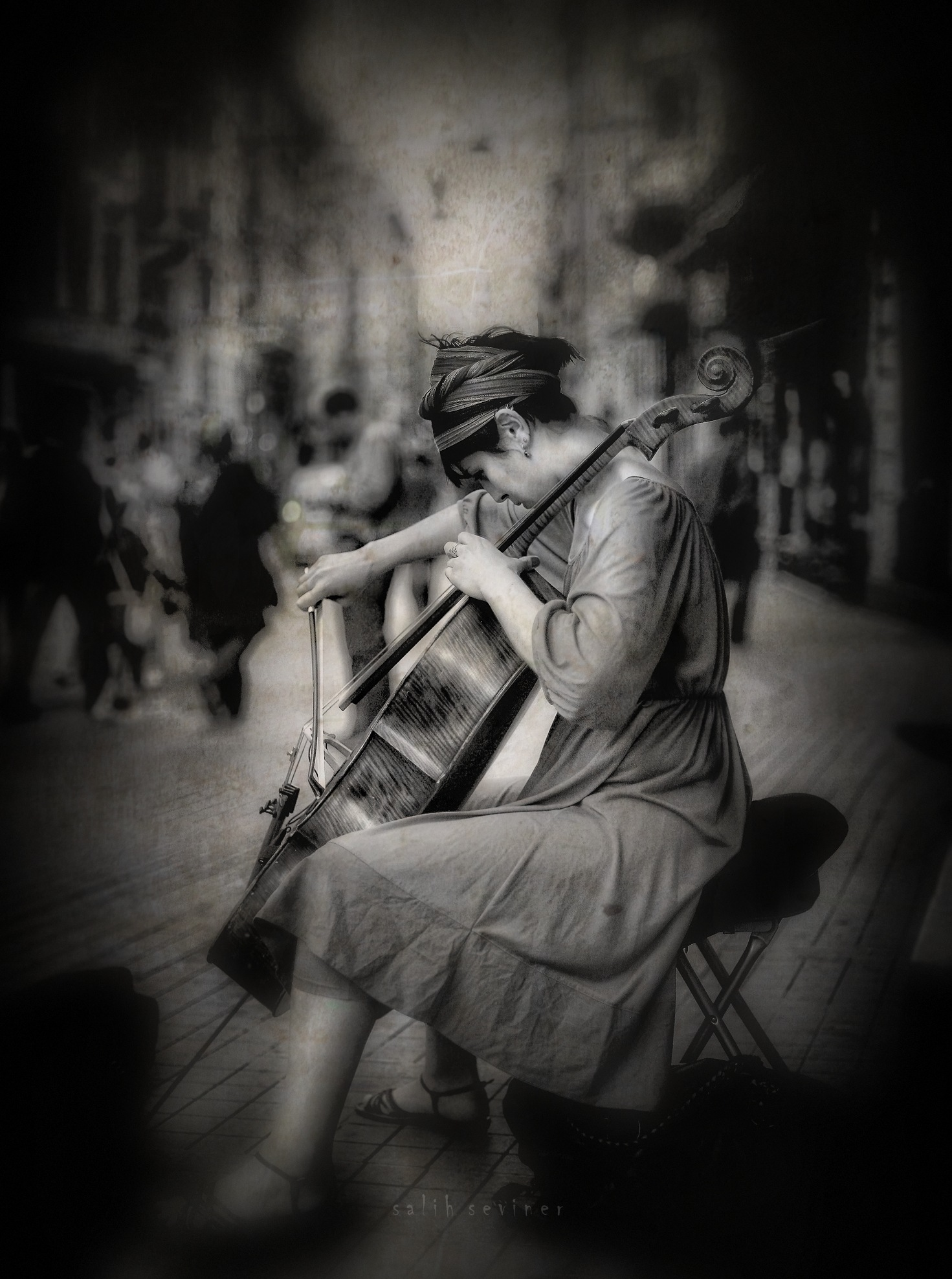 street and music.. by Salih Seviner