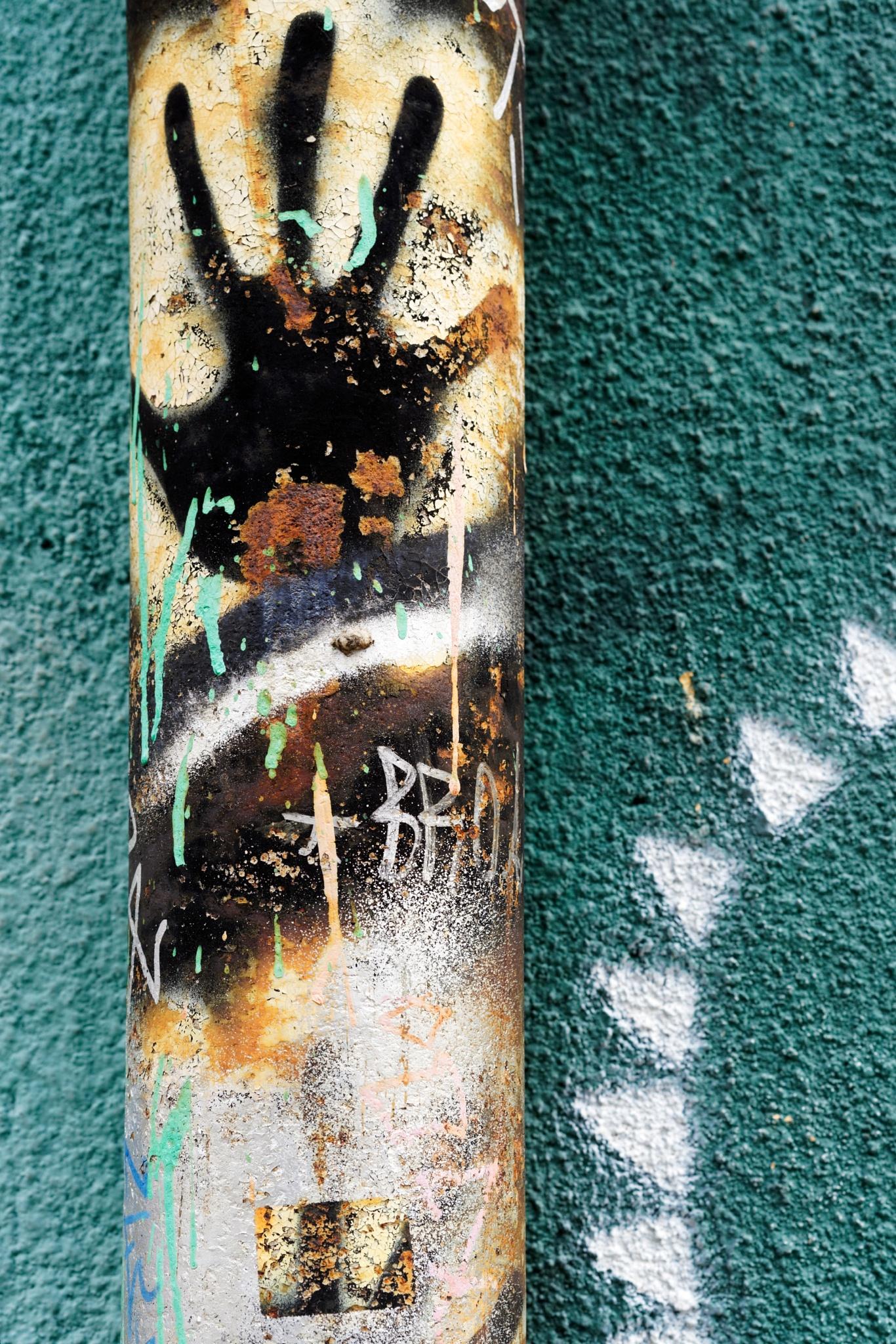 Street art by Marko Erman