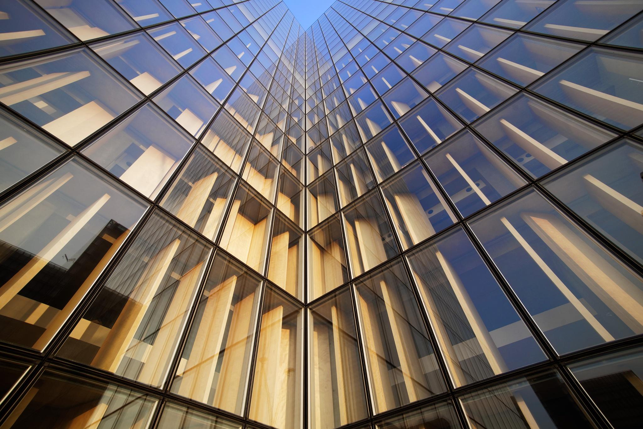 Photo in Architecture #architecture #bibliothèque nationale de fran #paris #building #perspective #lines #reflections