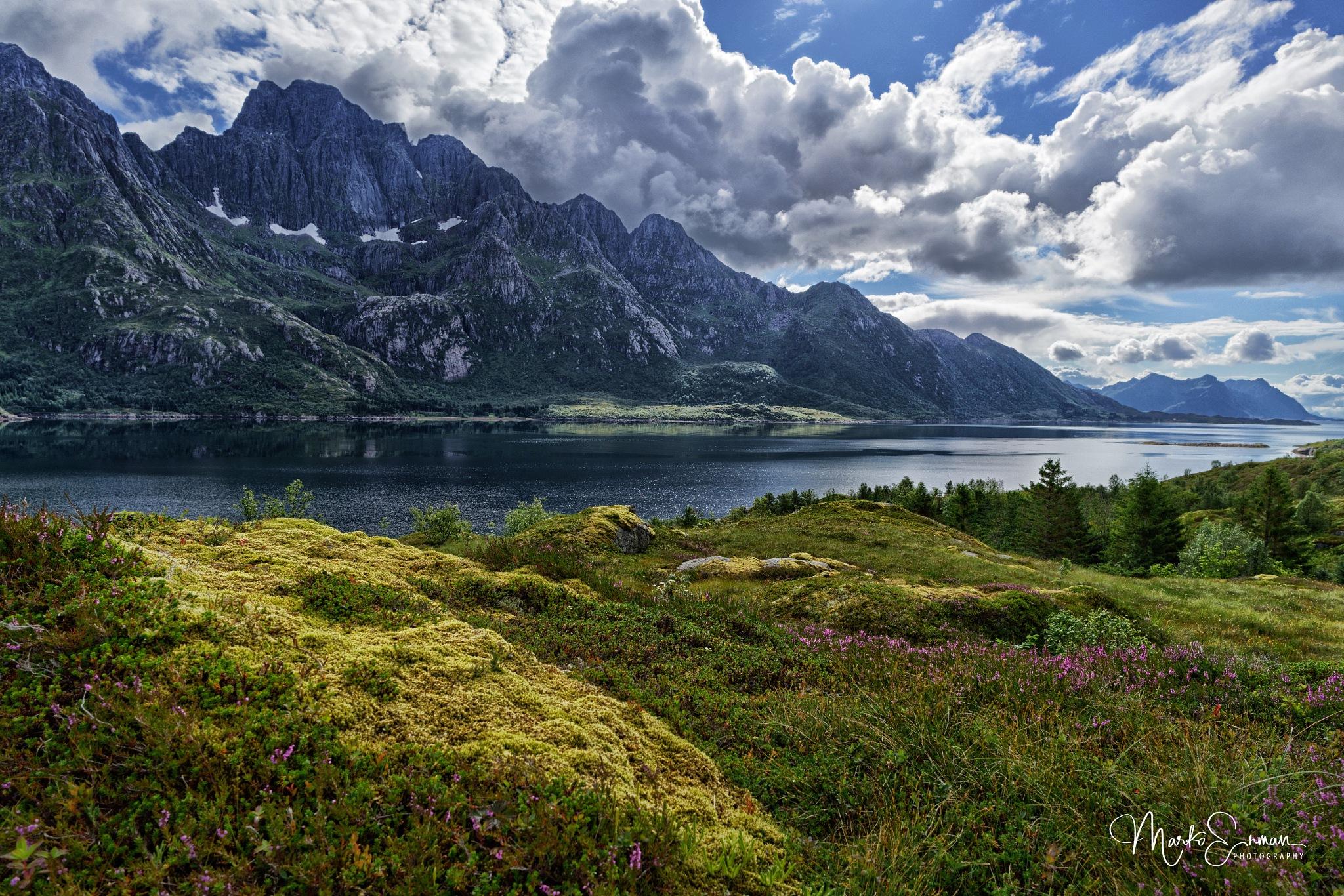 Austvågøy landscape by Marko Erman