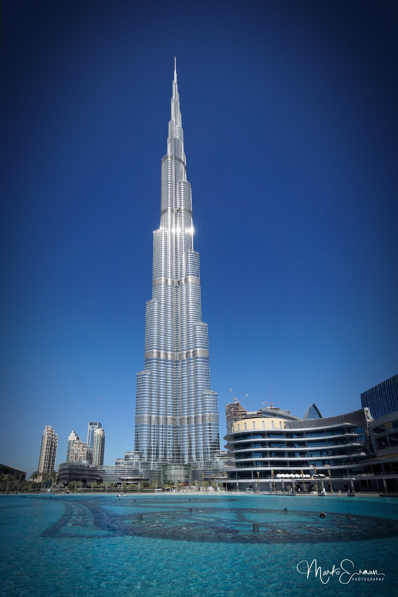 Burj Khalifa by Marko Erman