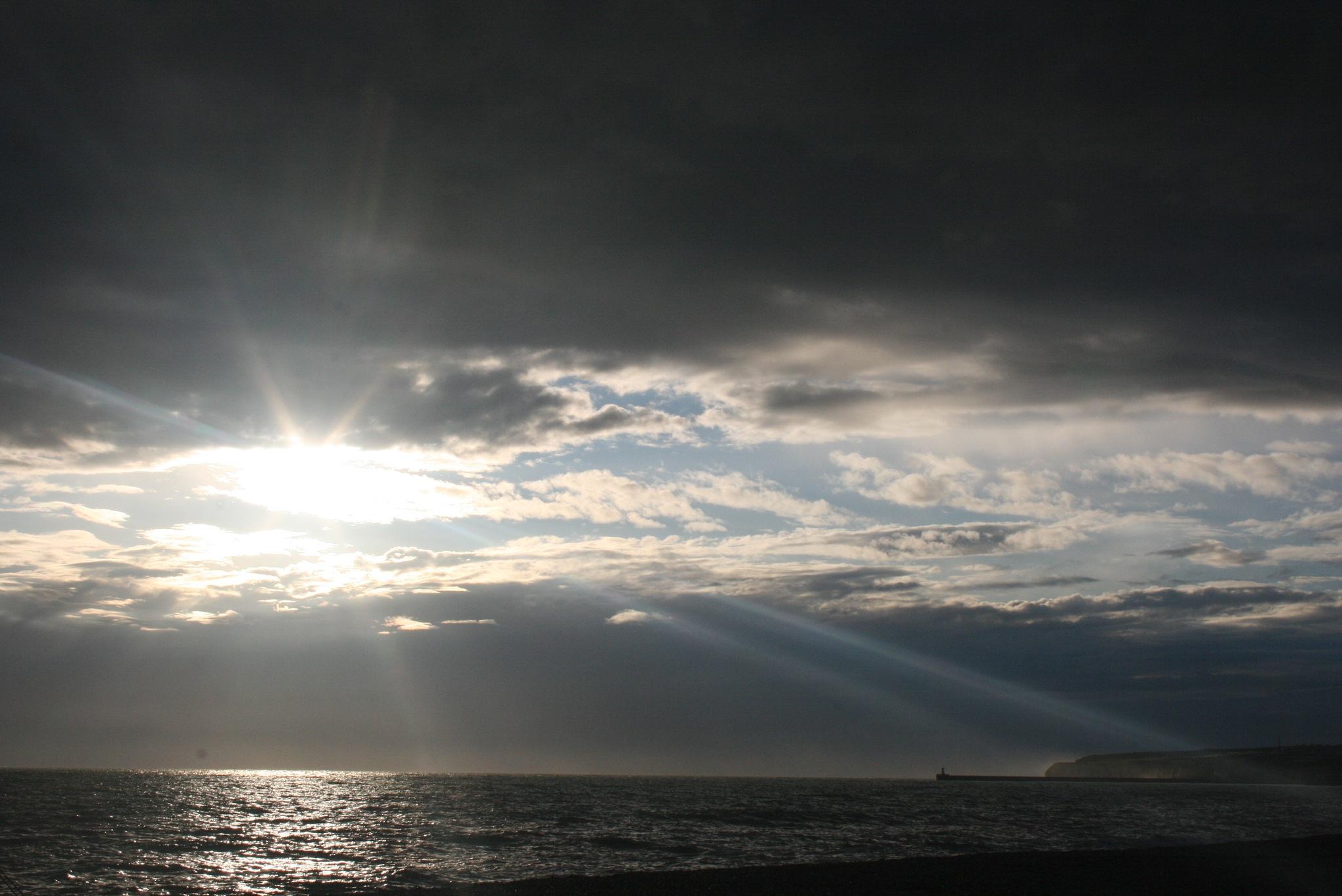 On Seaford Beach 125 by Richard K Potter