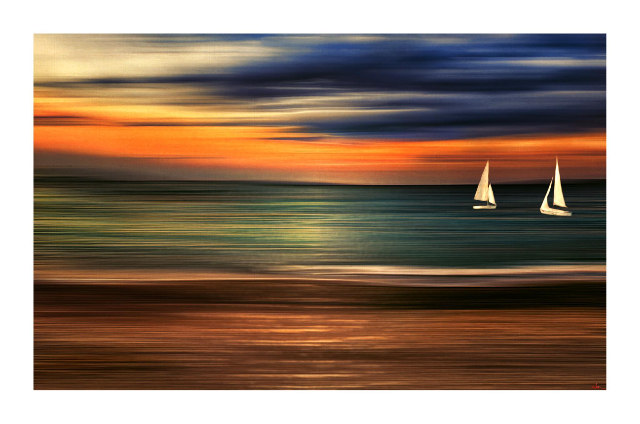 Photo in Abstract #abstract #altea #spain #sunset #nikon #sea #boat #summer