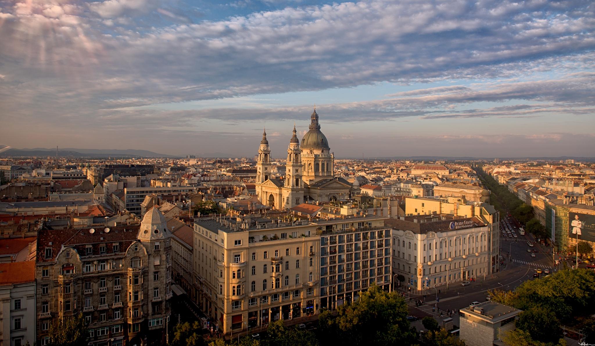 From Budapest eye by Viktor Stefanov