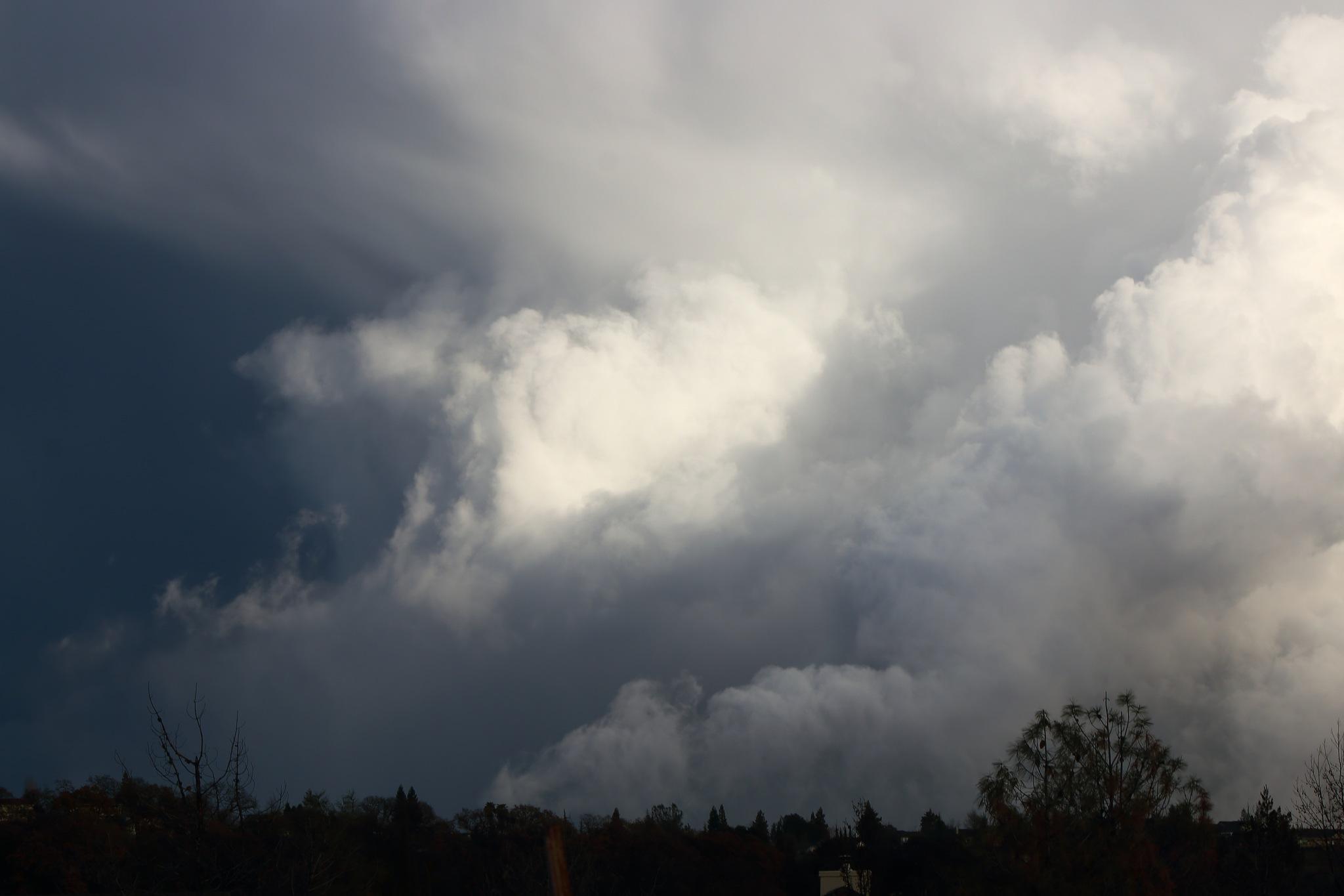 Tornado Clouds II by Laurie Puglia