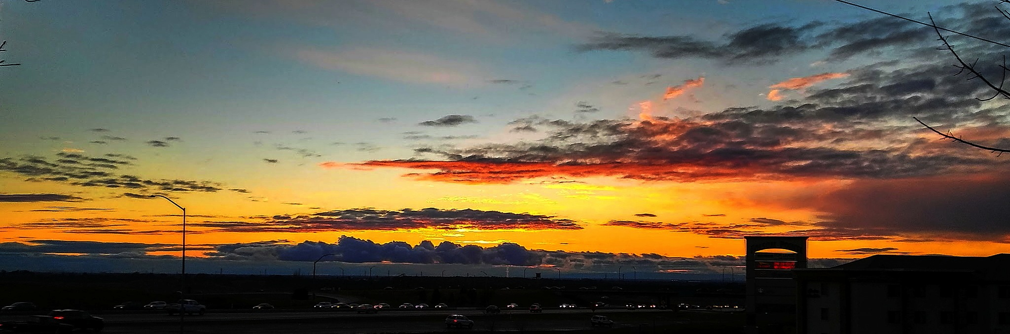 Pano of Costco Folsom by Laurie Puglia