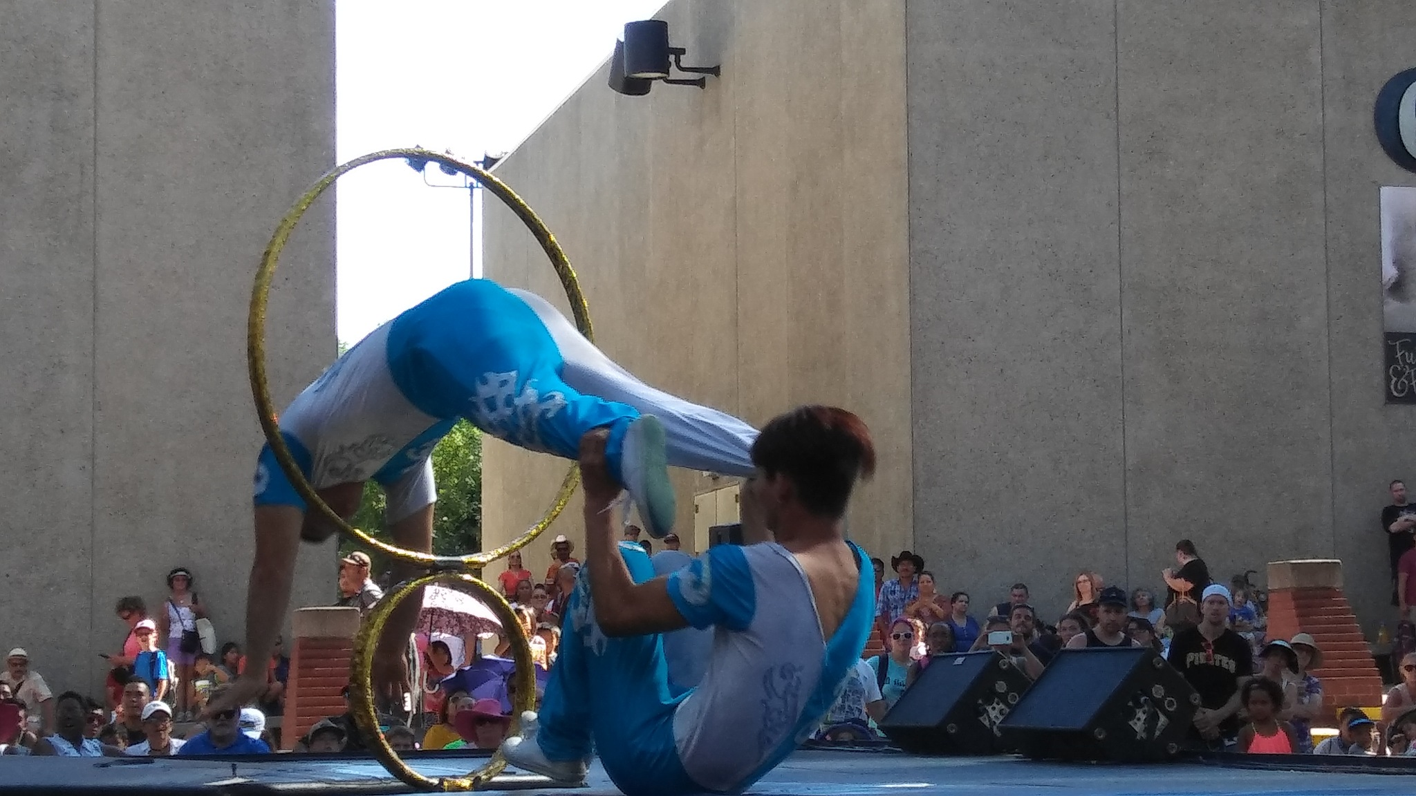 Chinese Acrobats by Laurie Puglia