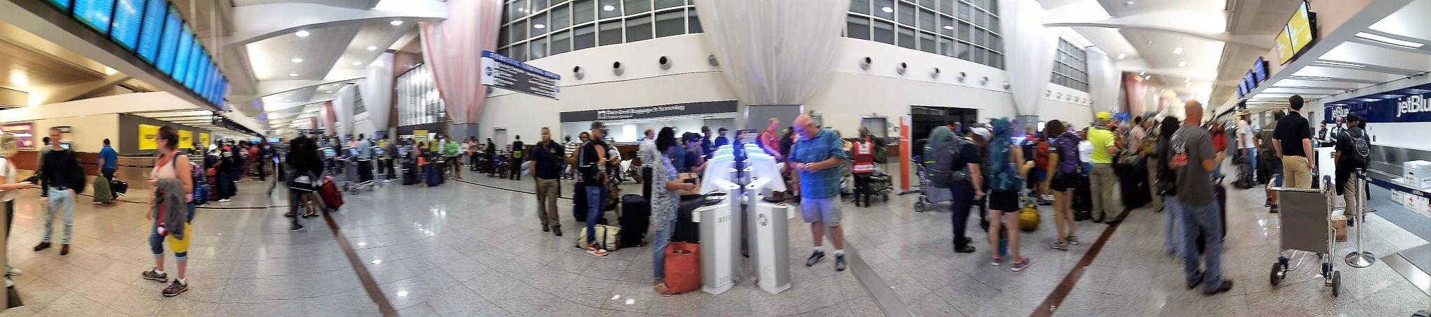San Juan Airport by Laurie Puglia