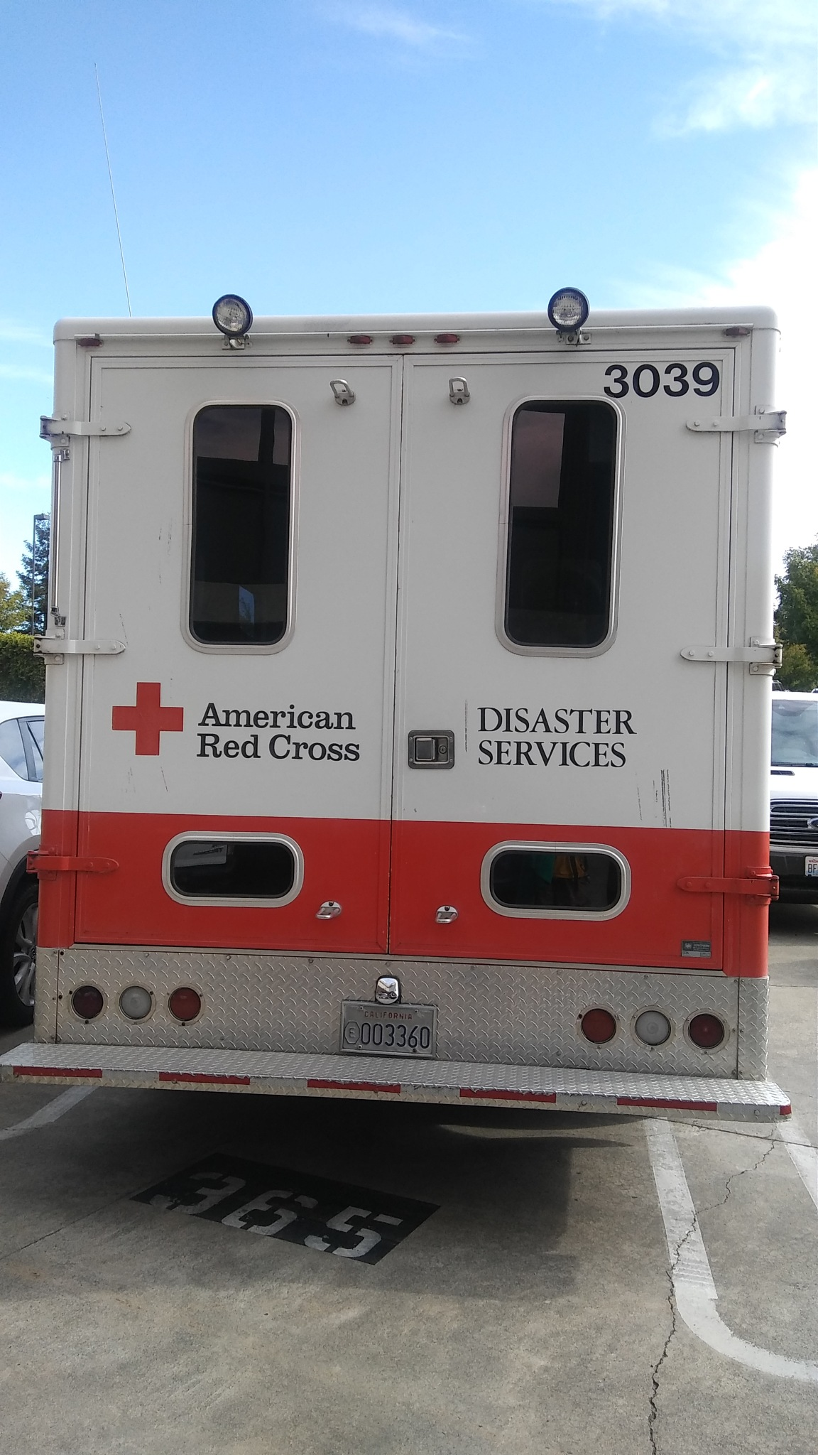 Red Cross ERV by Laurie Puglia