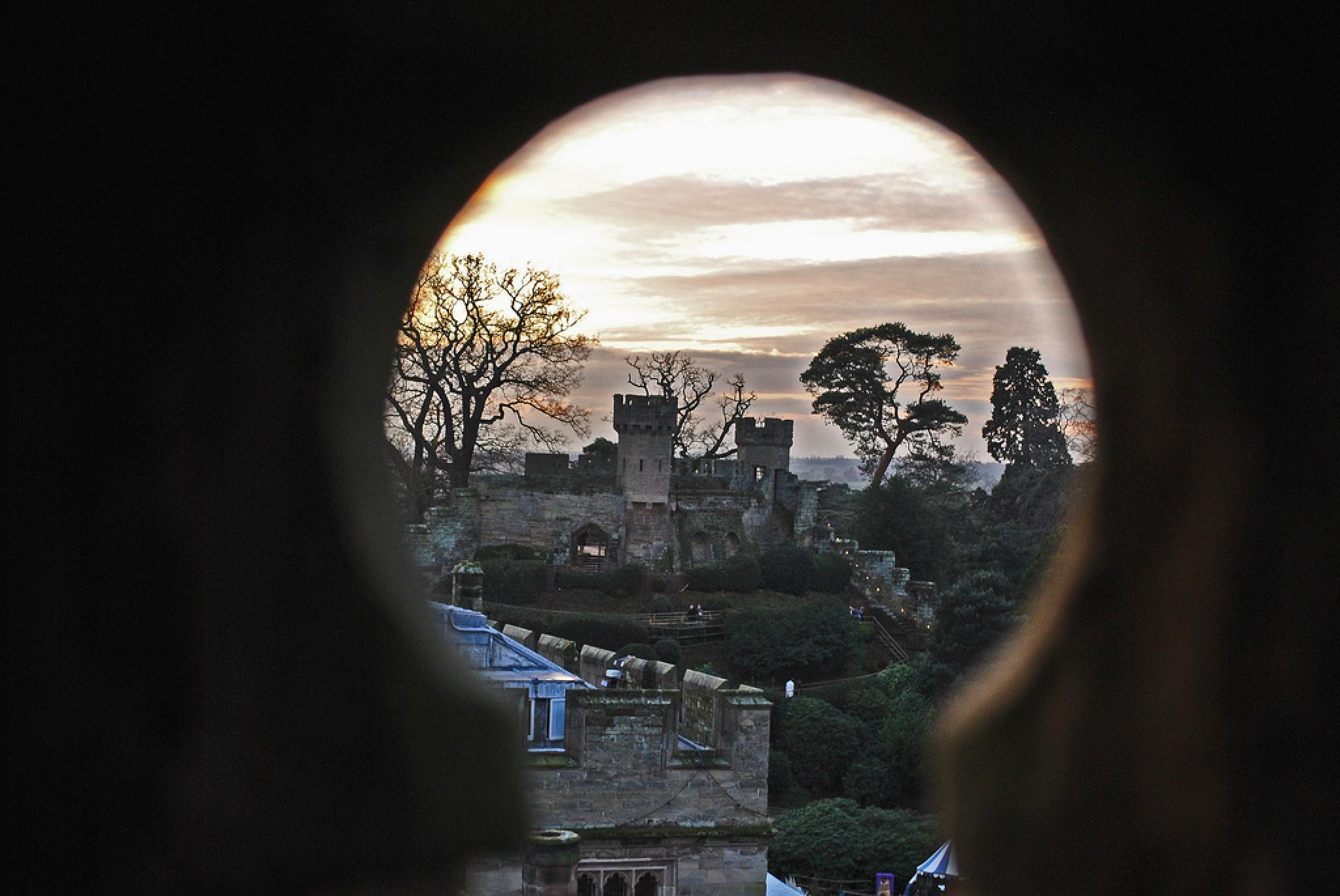 Through The Keyhole by Aligeeach