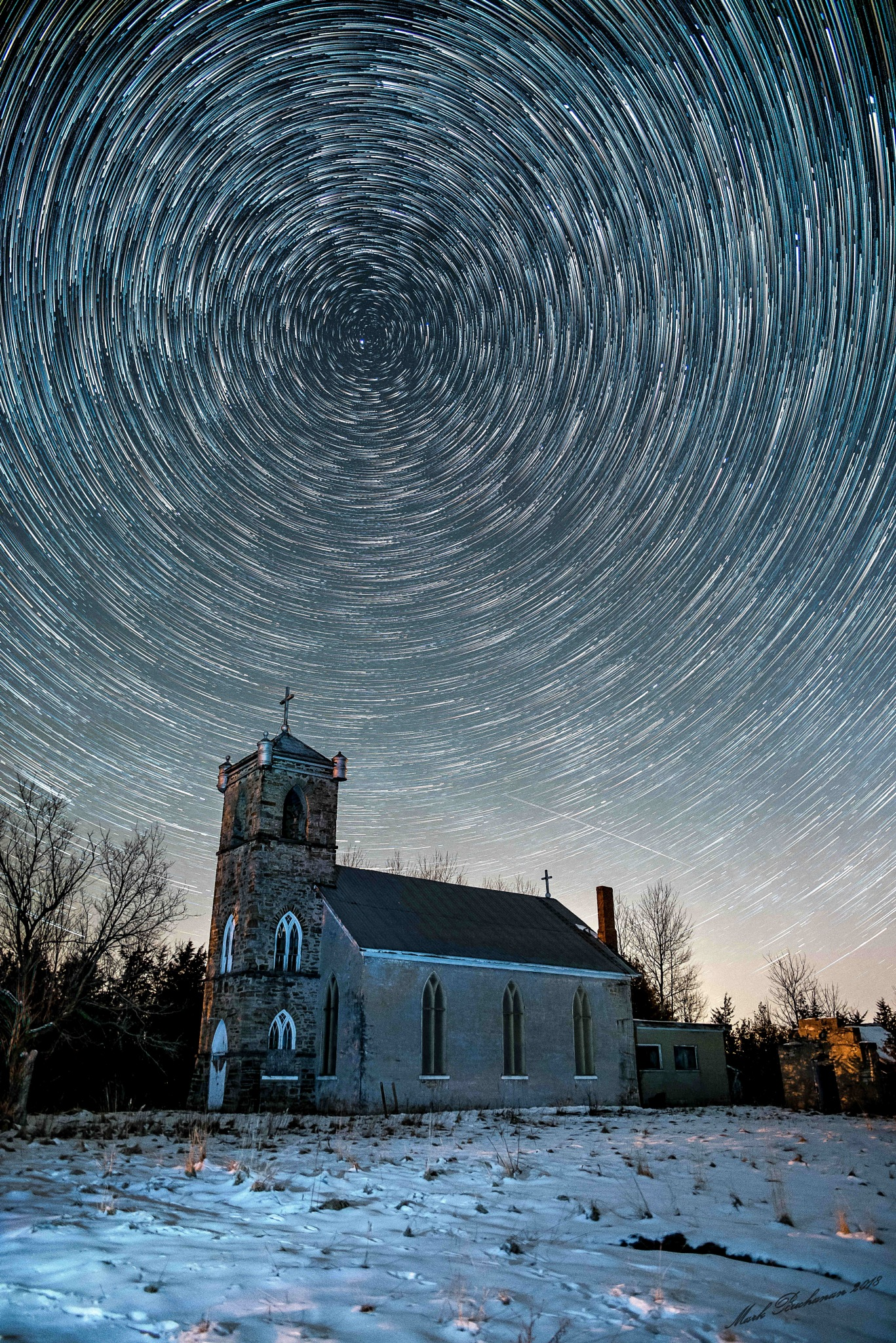 Spin above the church by Mark Buchanan