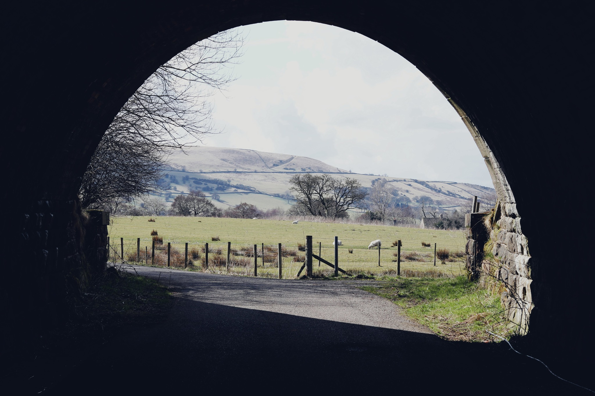 Frame of countryside by CharlottesSnaps