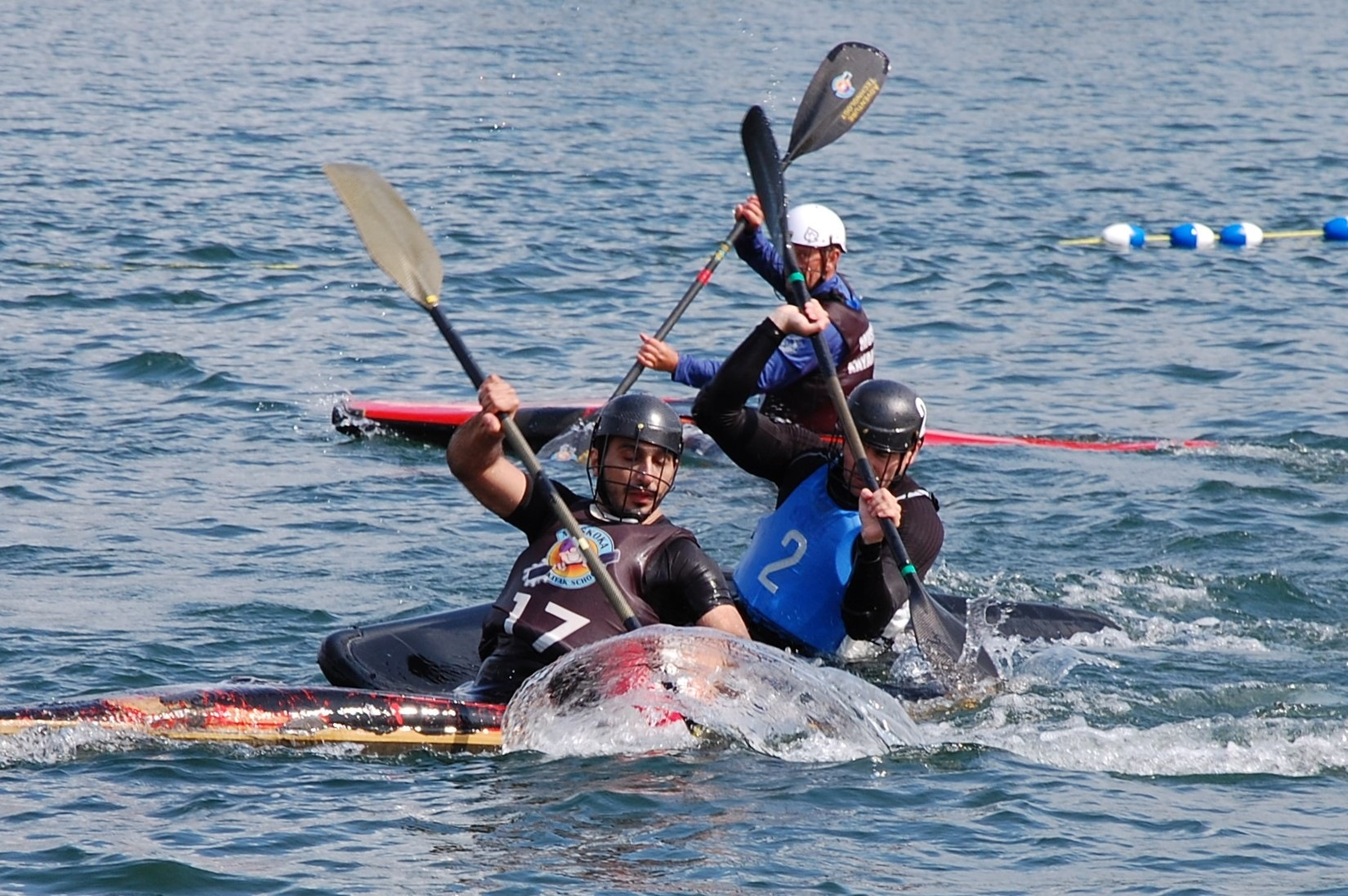 Kayak Water Polo by CindyLou