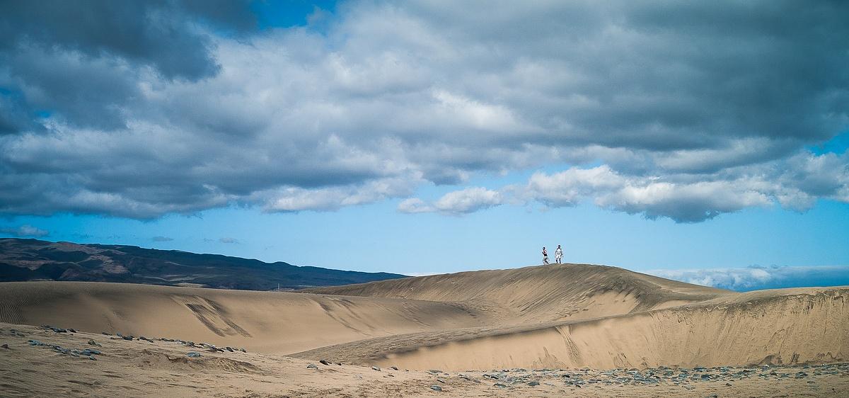 Walking the Dunes by Mads Hugo Pedersen