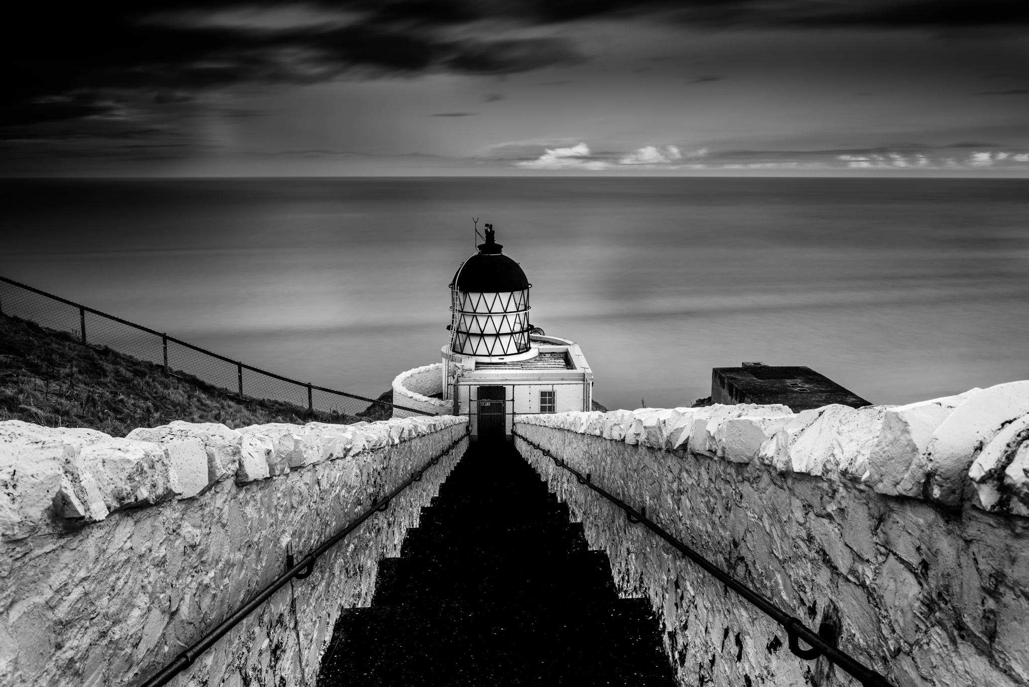 St Abbs Lighthouse by Martin Devlin