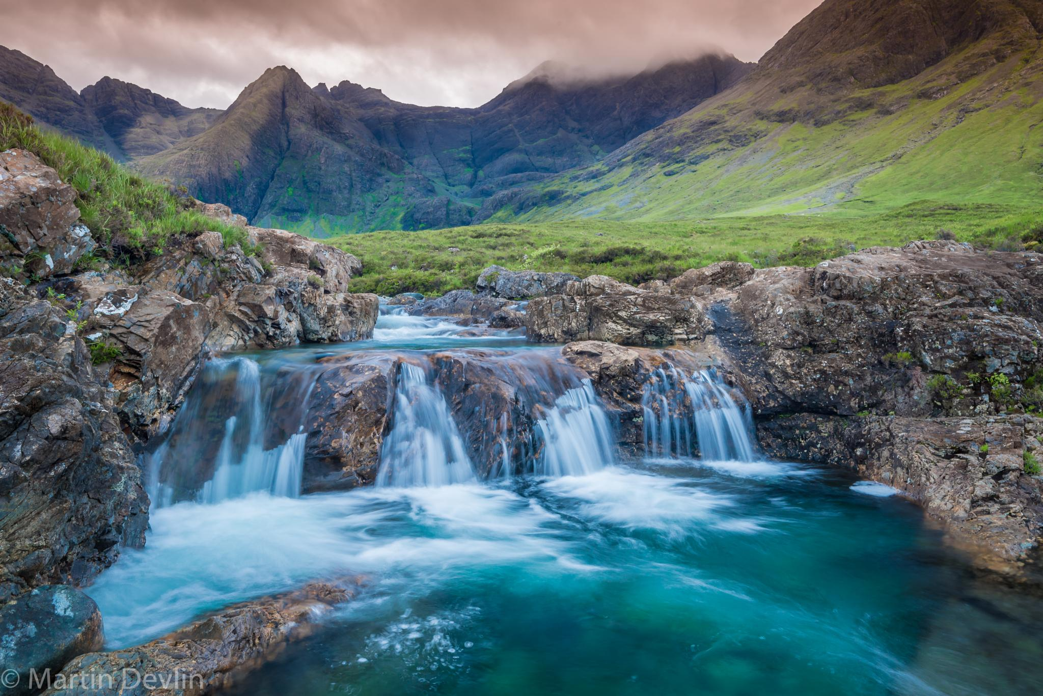 The Fairy Pools  by Martin Devlin