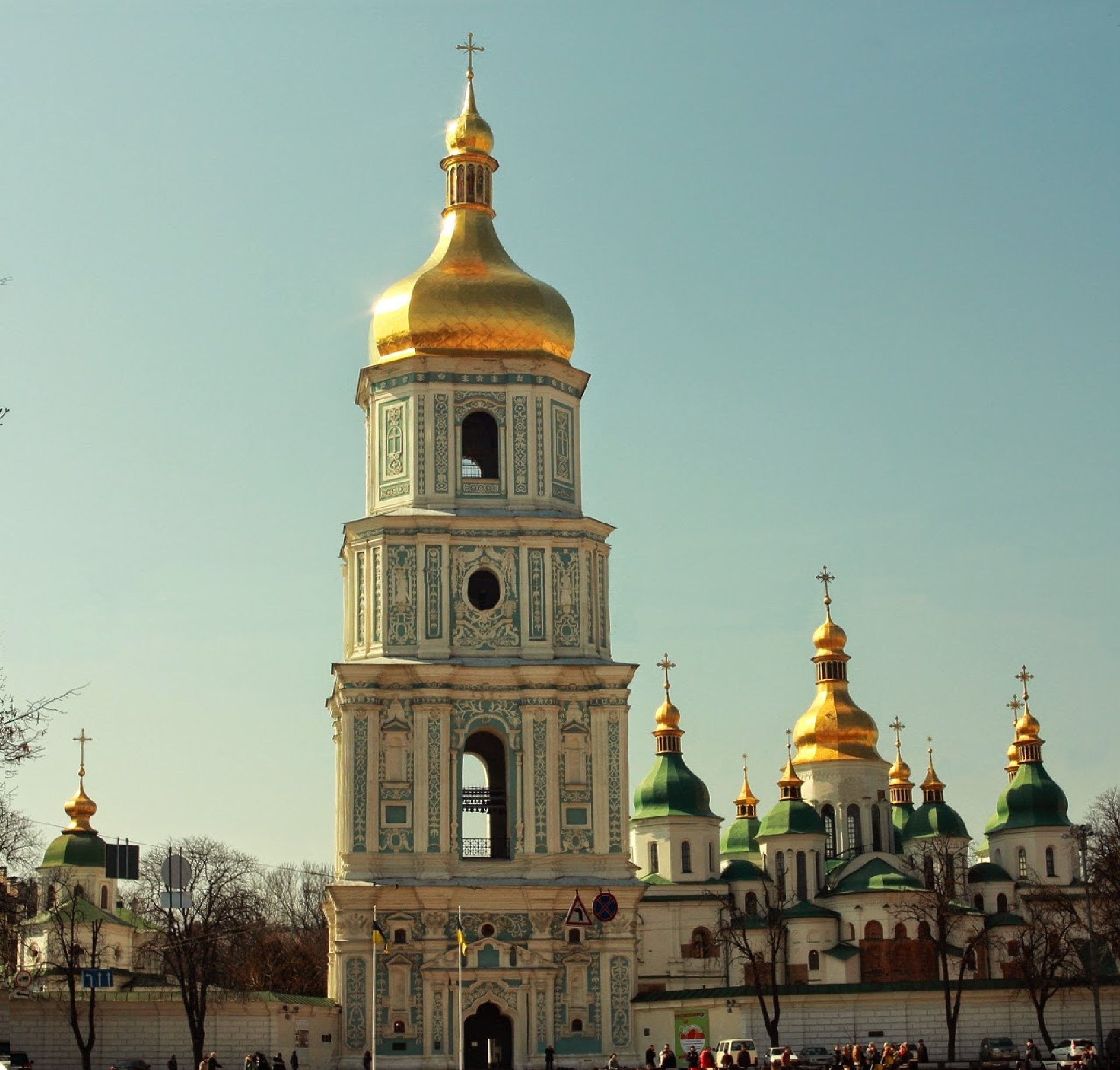 Saint Sophia Cathedral by Vasiliy Kotkov