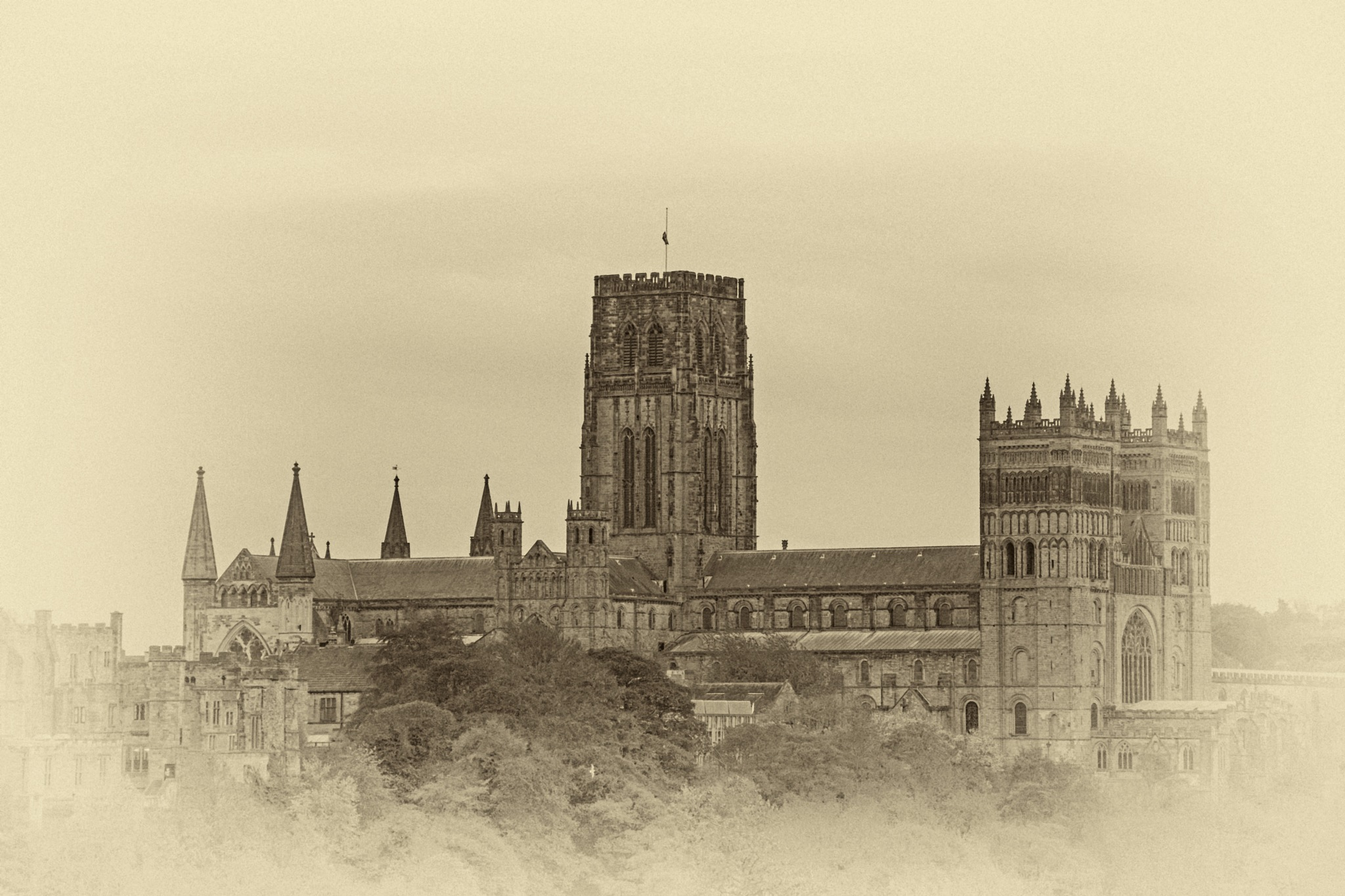 Majestic Durham Cathedral by BrianS
