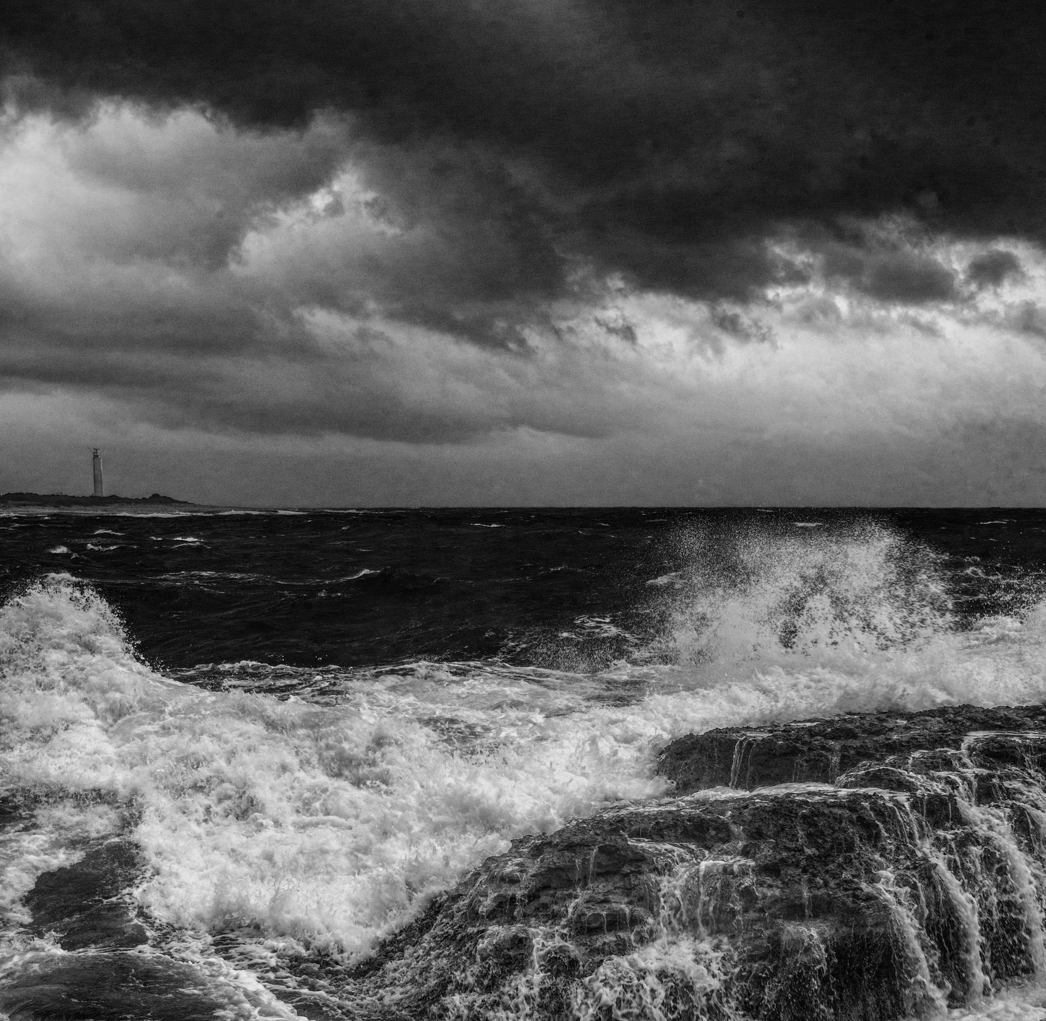 Mediterranean  Dramatic Saturday by Frederic Gombert