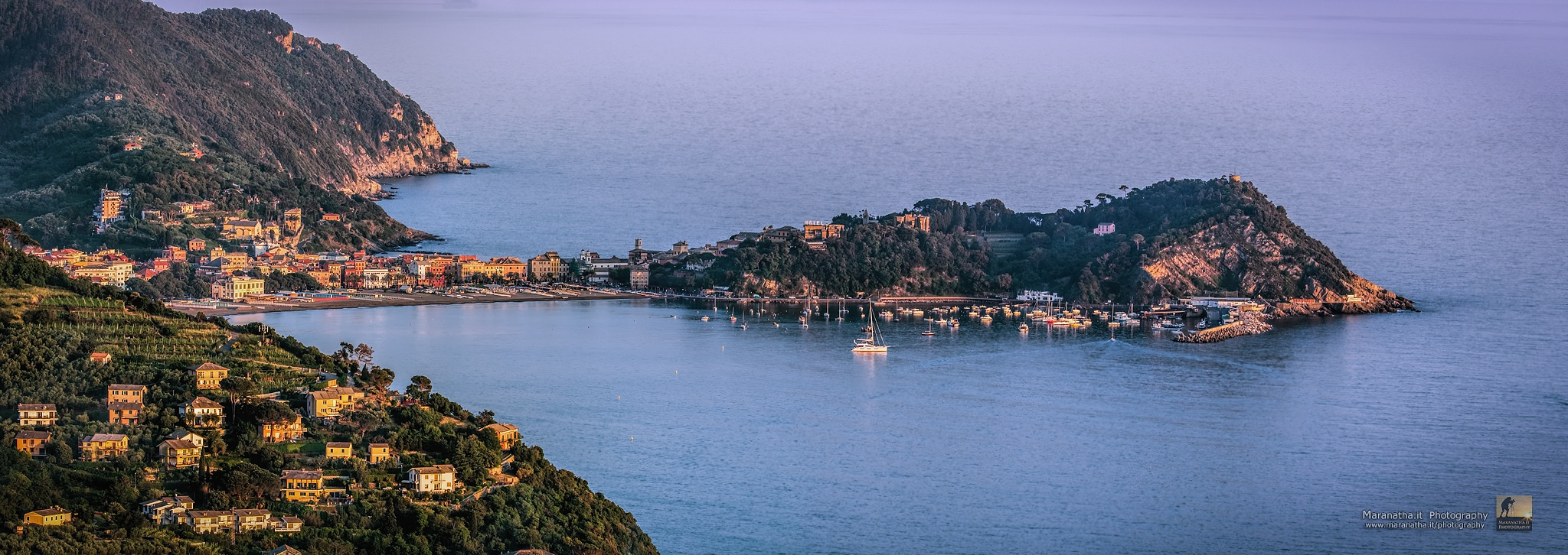 Sestri Levante - Ligurian Sea by Maranatha.it Photography
