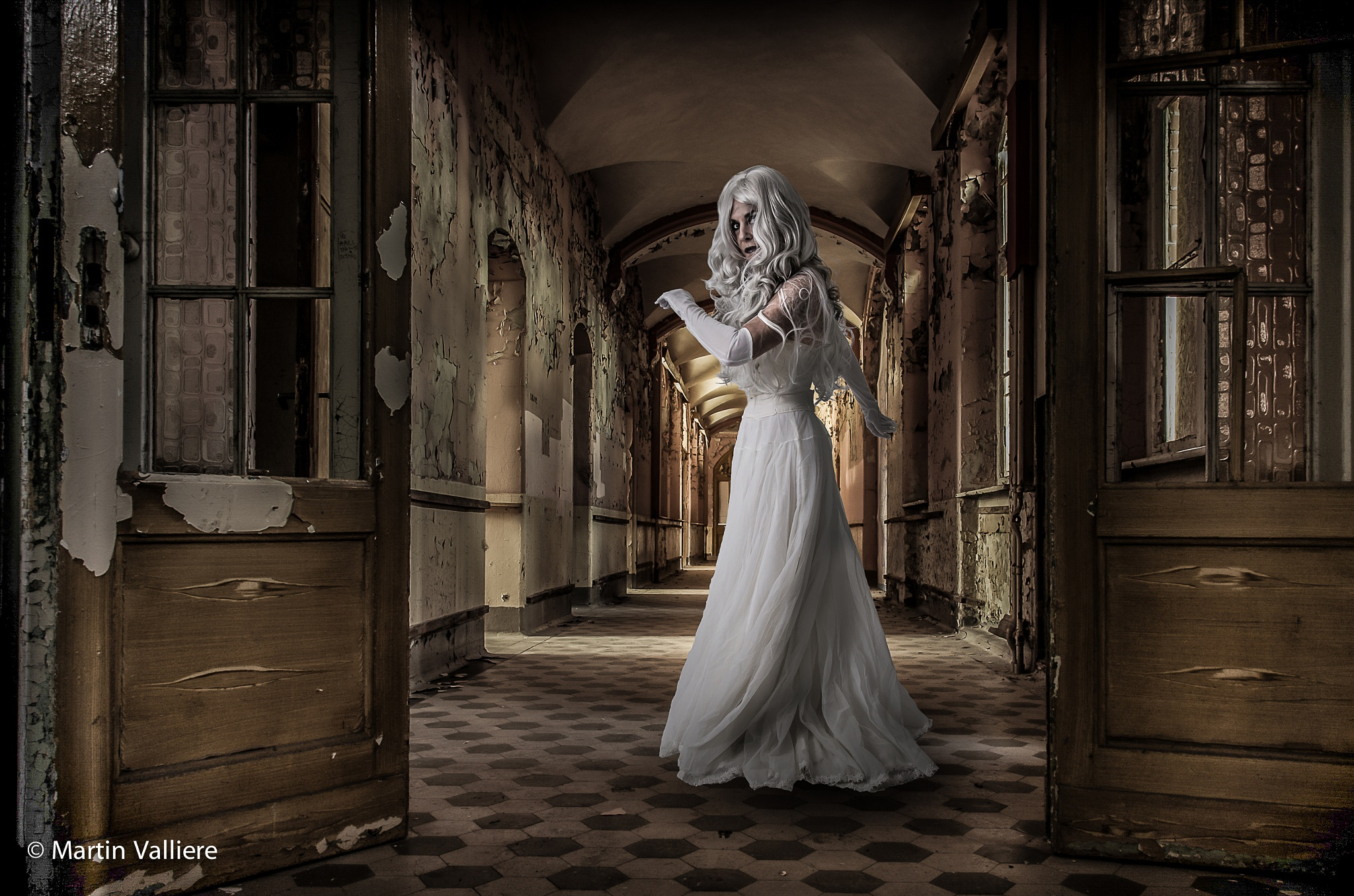 The White Woman by marval