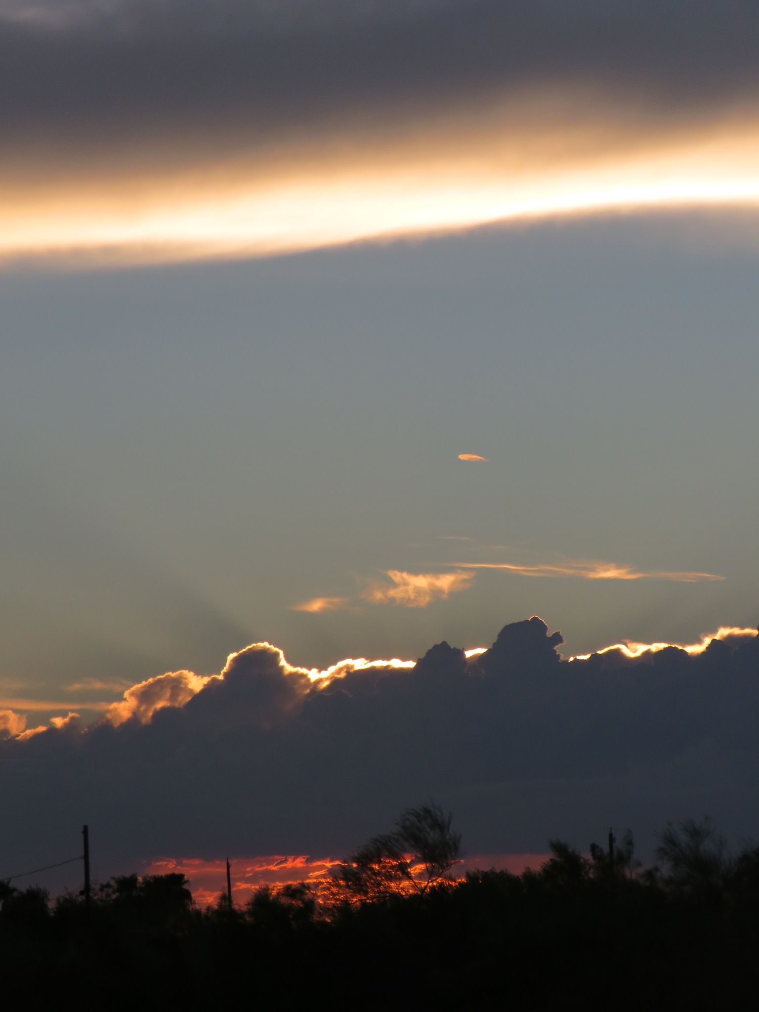 front porch sunset by Terry Smith