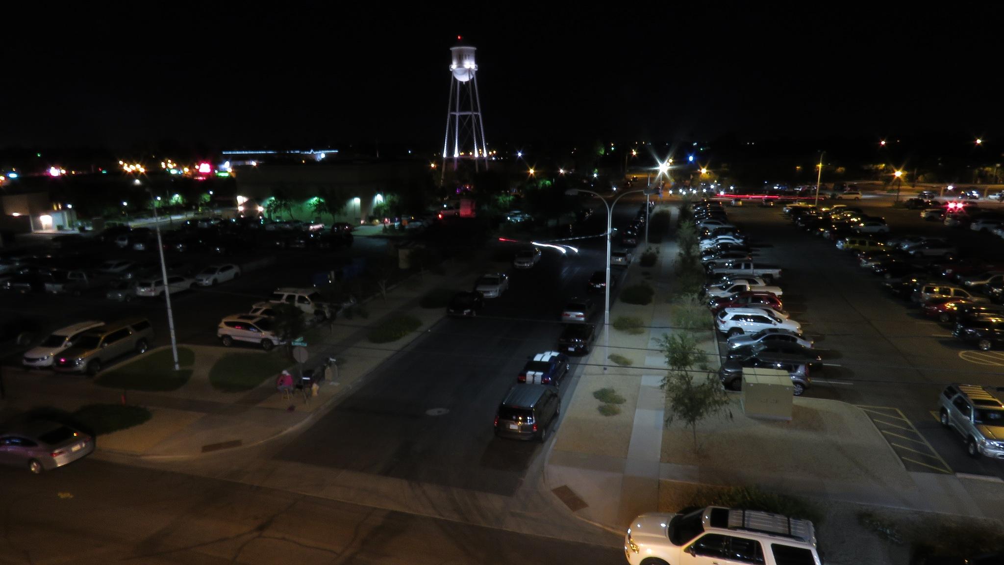 Gilbert Arizona by night by Terry Smith