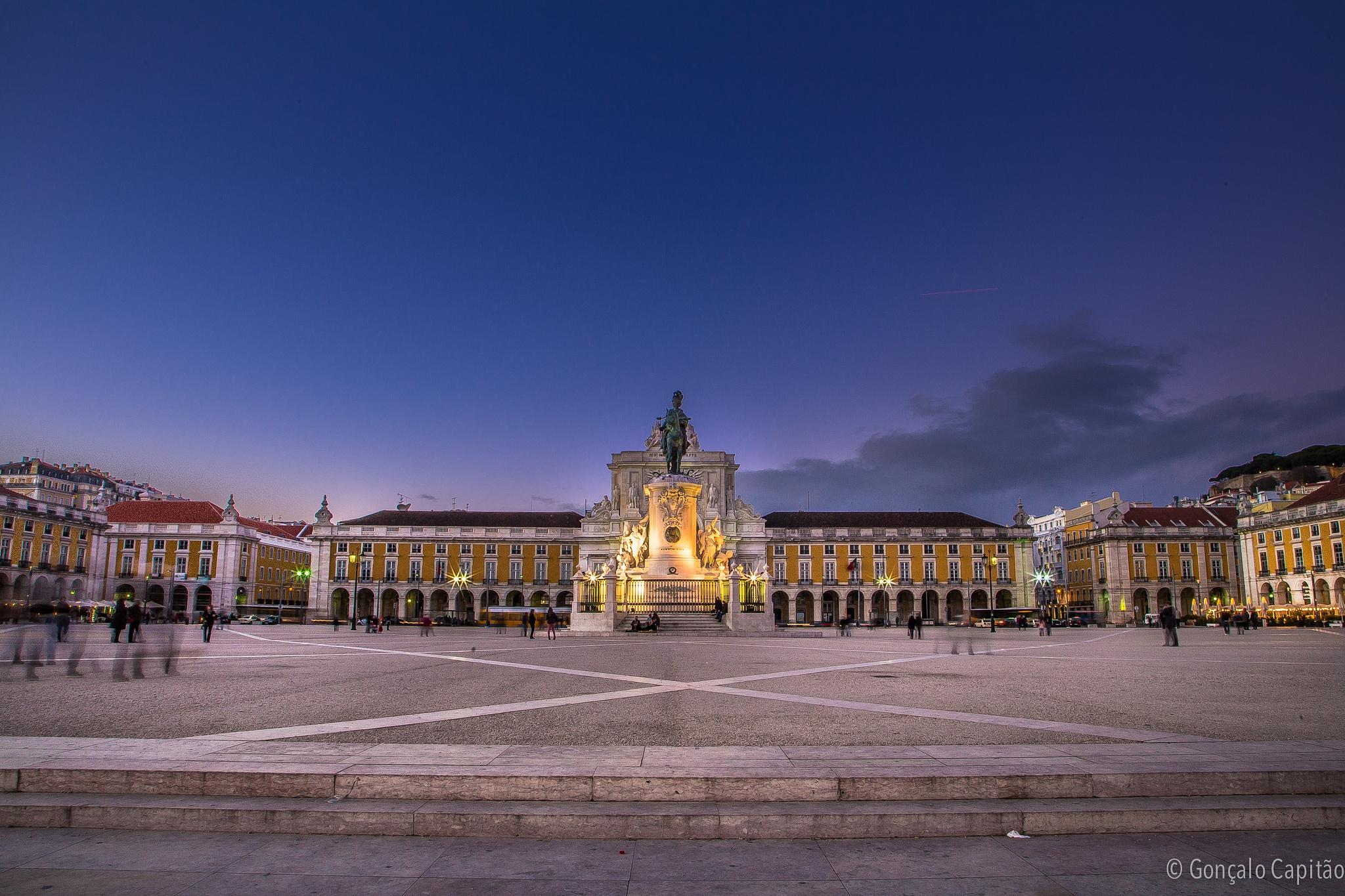 Praça do Comércio by goncaloacapitao