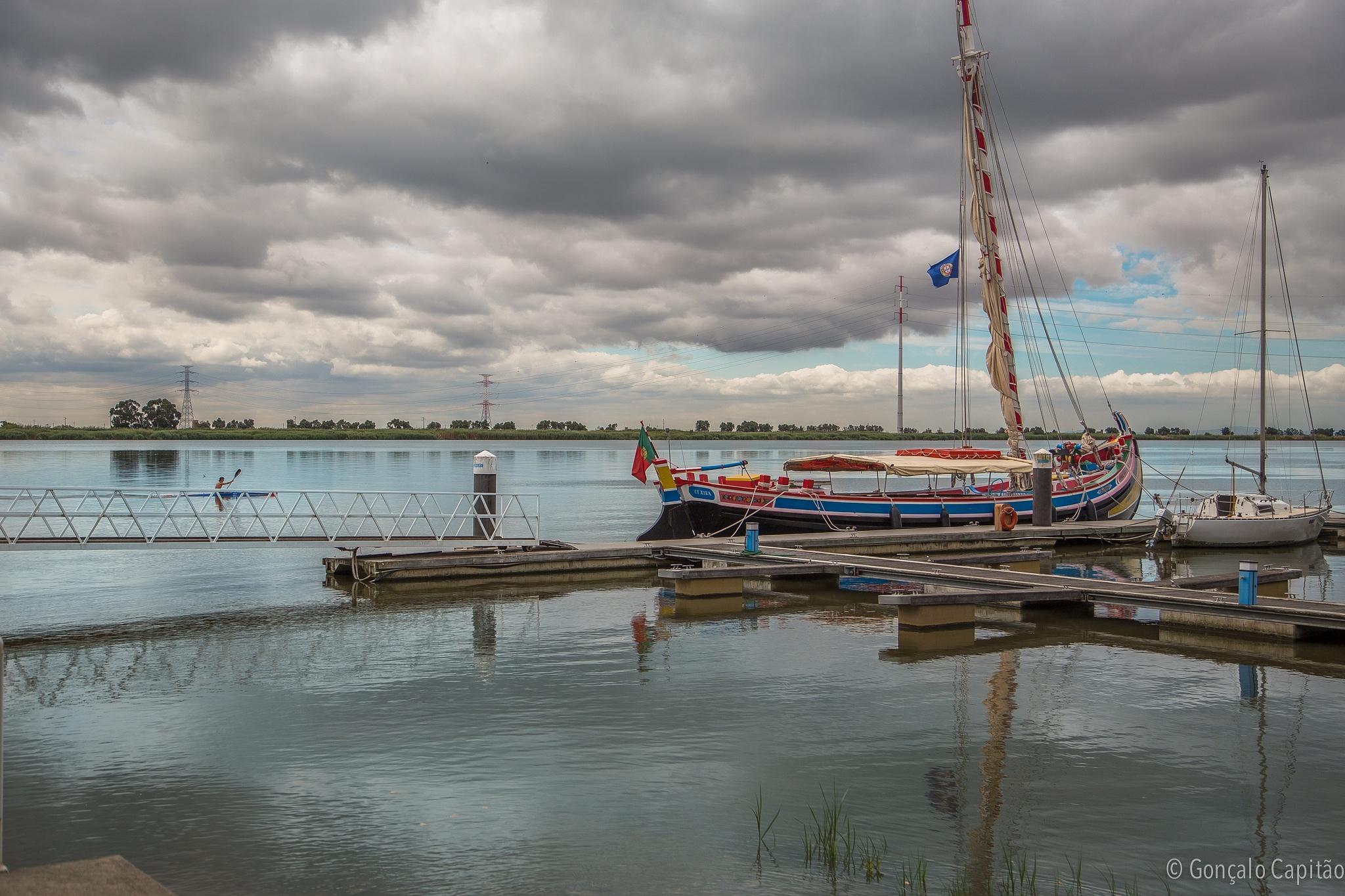 Barcos do Tejo by goncaloacapitao