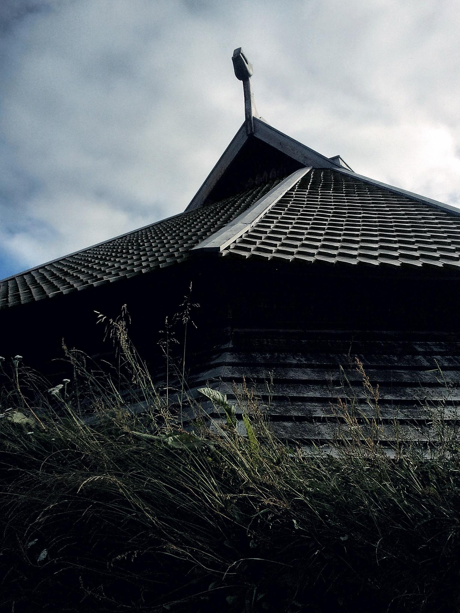 Viking House in Borg - Lofoten - Norway by Freddy Arntsen